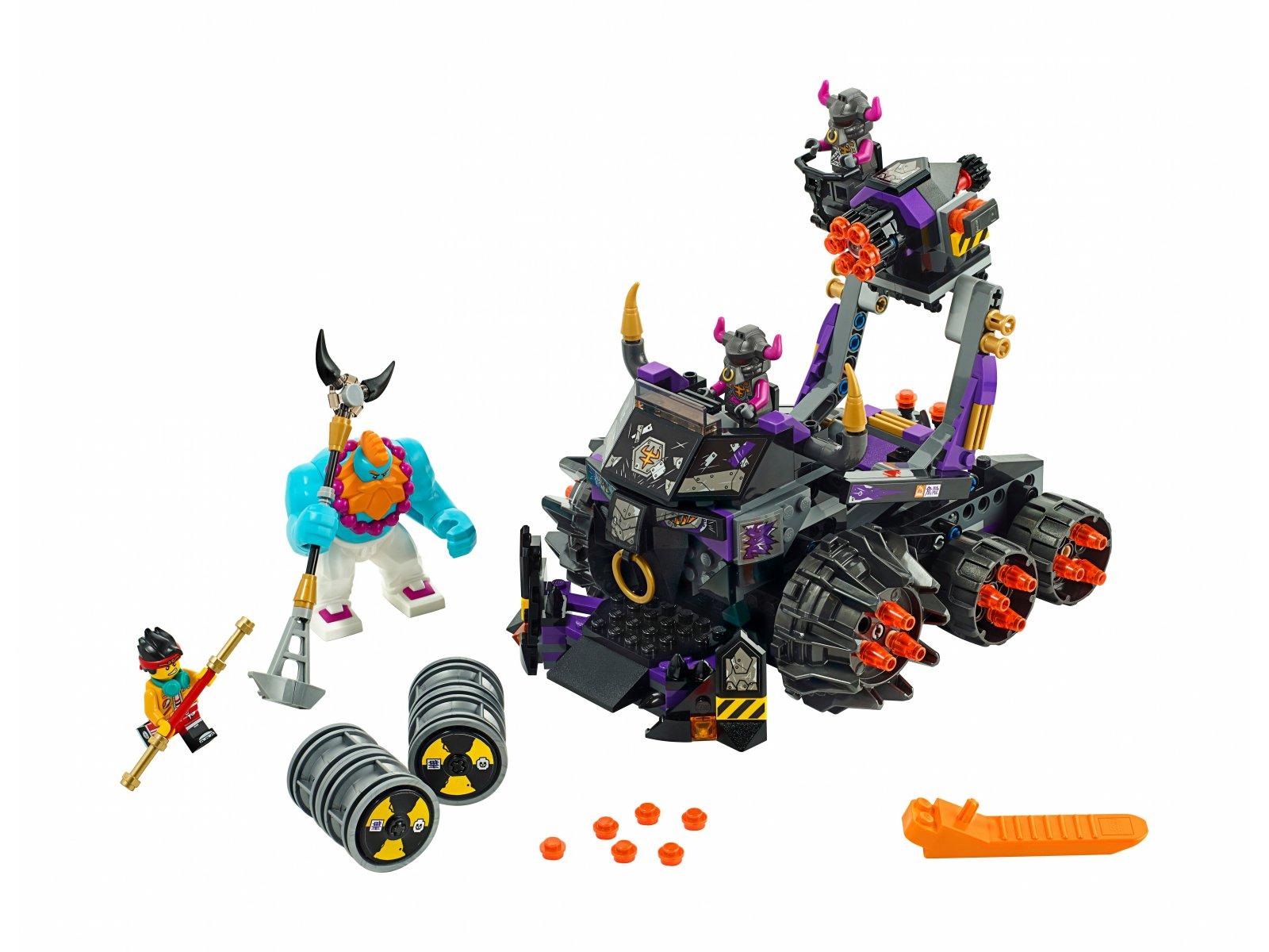 LEGO Monkie Kid™ 80007 Czołg Żelazny Byk