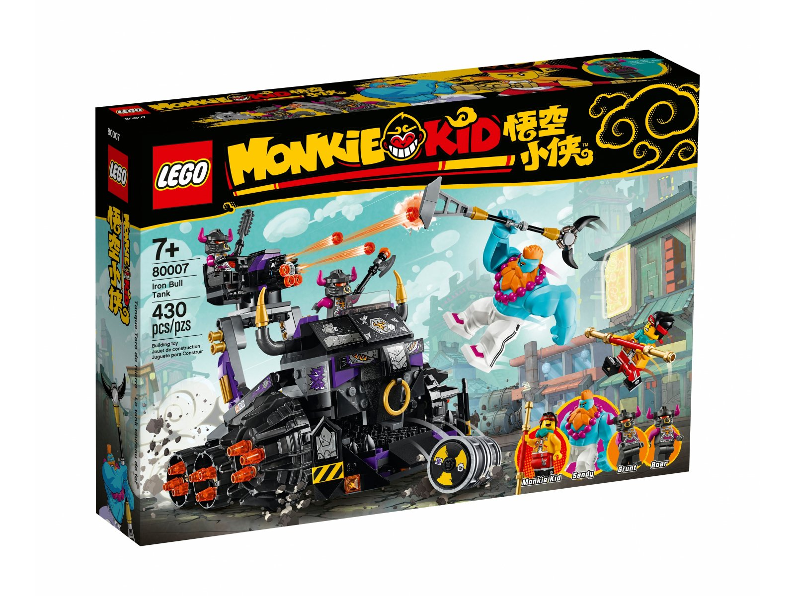 LEGO 80007 Monkie Kid™ Czołg Żelazny Byk
