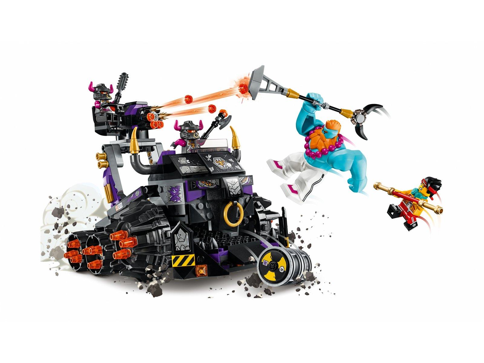 LEGO Monkie Kid 80007 Czołg Żelazny Byk