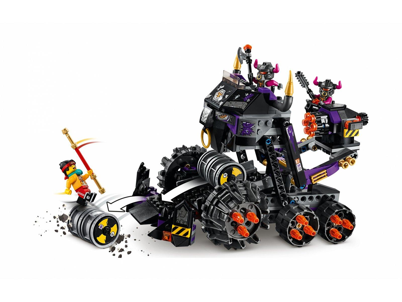 LEGO Monkie Kid™ Czołg Żelazny Byk 80007
