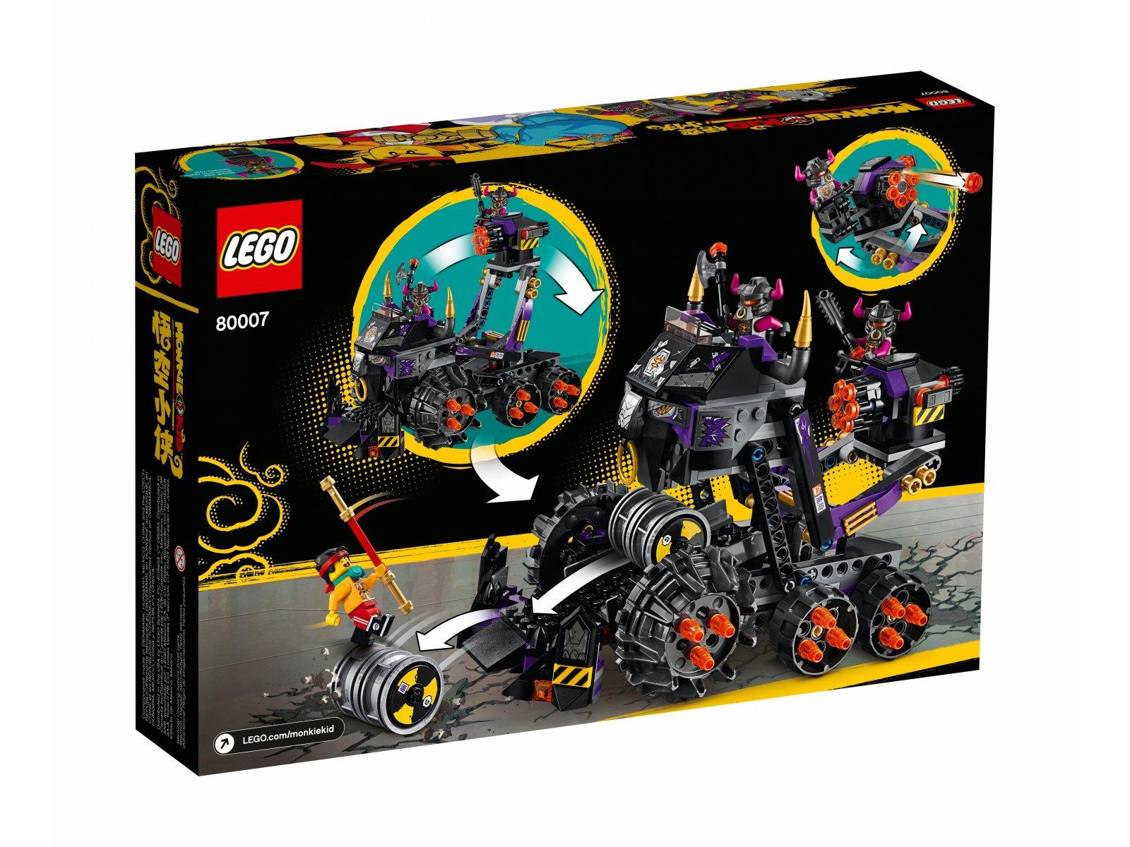 LEGO Monkie Kid Czołg Żelazny Byk 80007