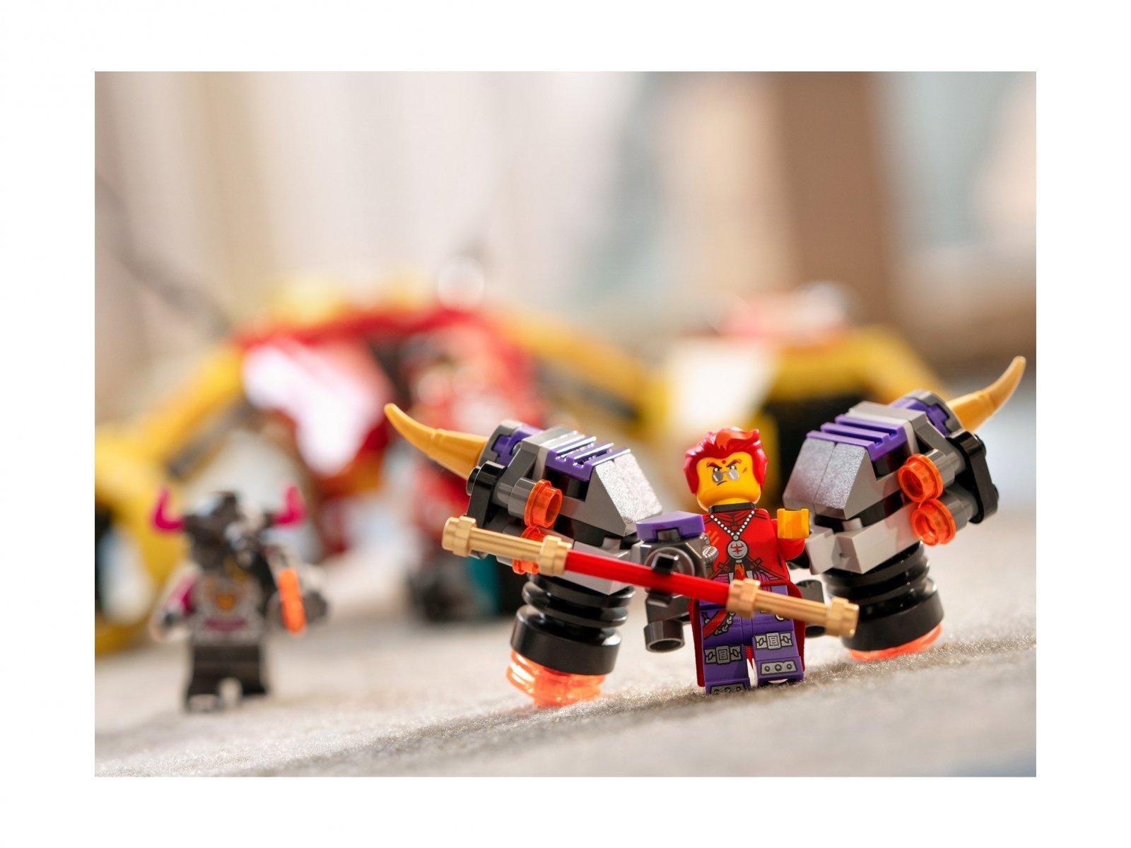 LEGO 80008 Odrzutowiec Monkie Kida