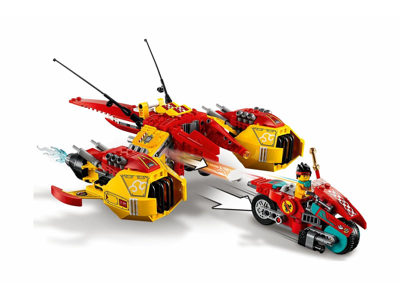 LEGO 80008 Monkie Kid Odrzutowiec Monkie Kida