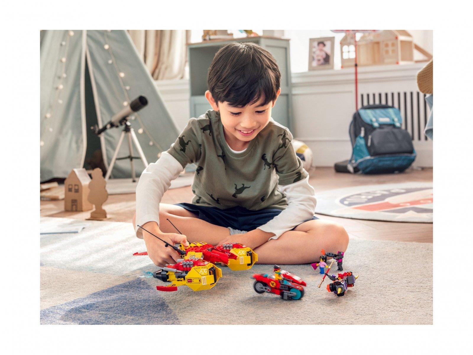 LEGO Monkie Kid 80008 Odrzutowiec Monkie Kida