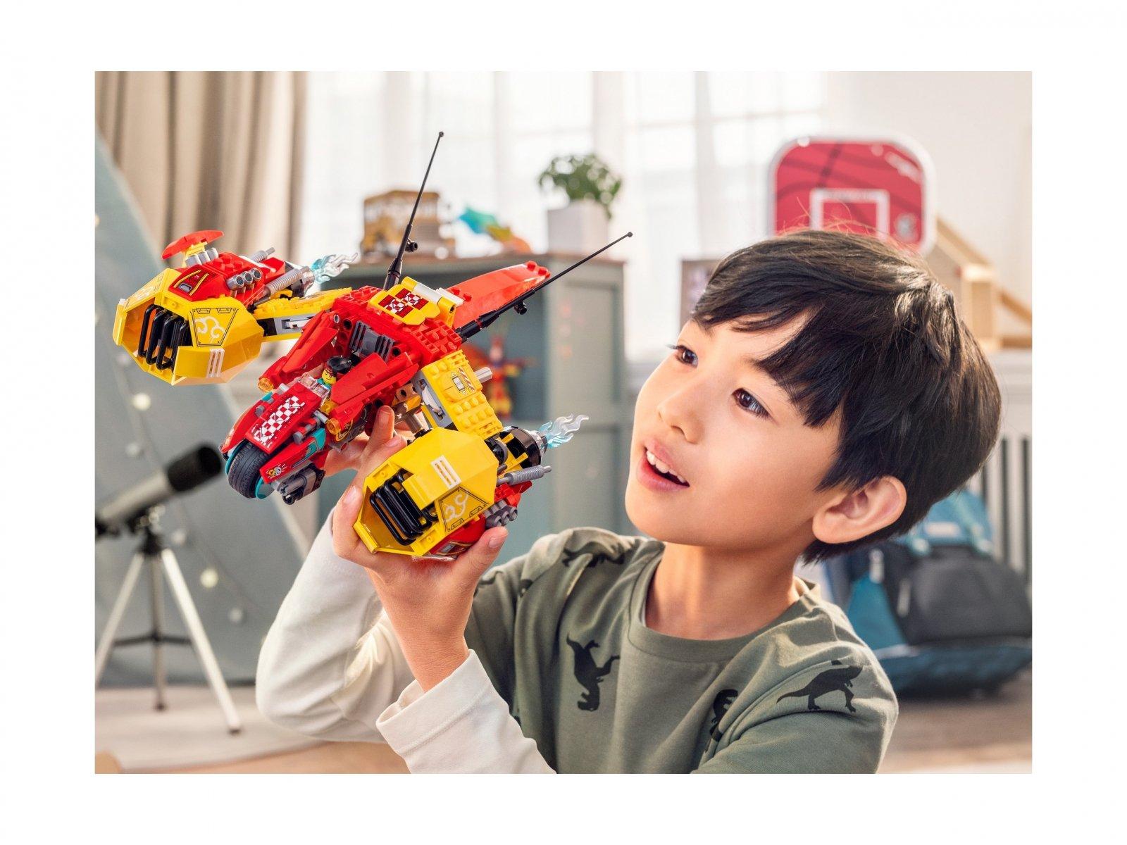 LEGO Monkie Kid Odrzutowiec Monkie Kida 80008