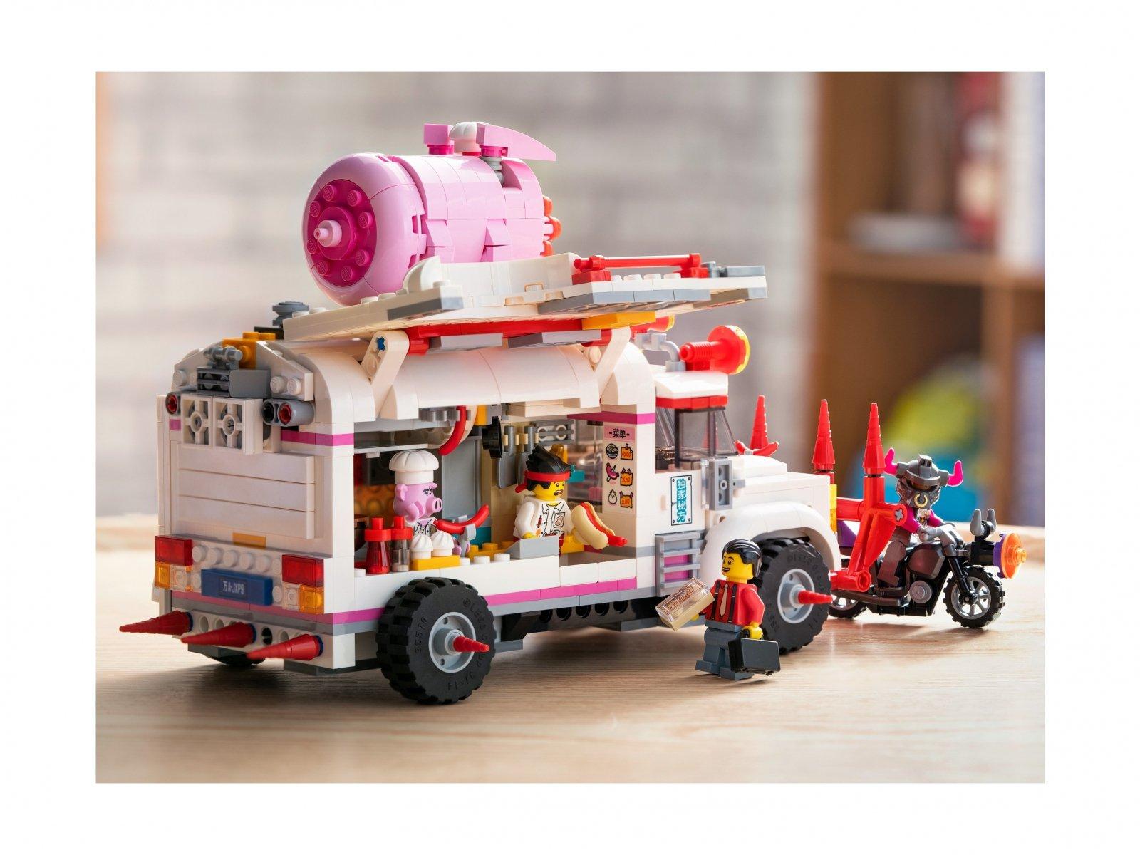 LEGO Monkie Kid™ Foodtruck Pigsy'ego 80009