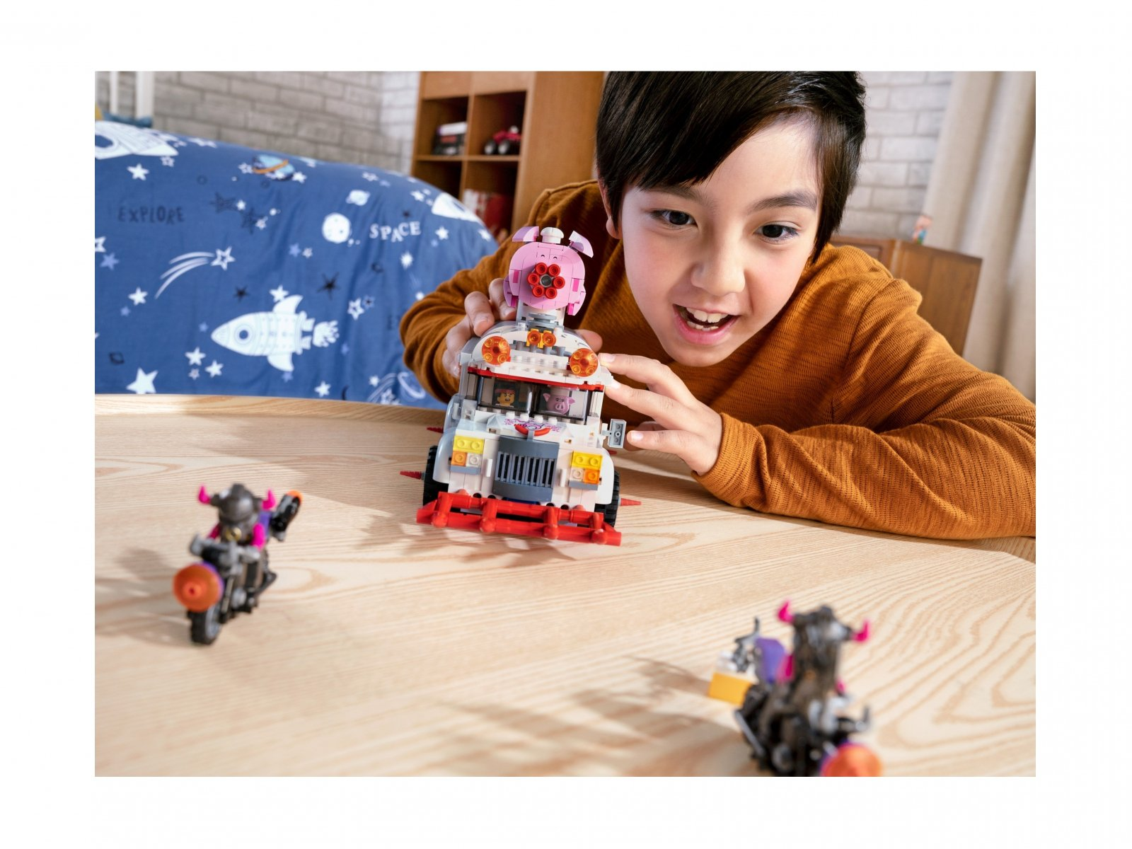 LEGO 80009 Foodtruck Pigsy'ego