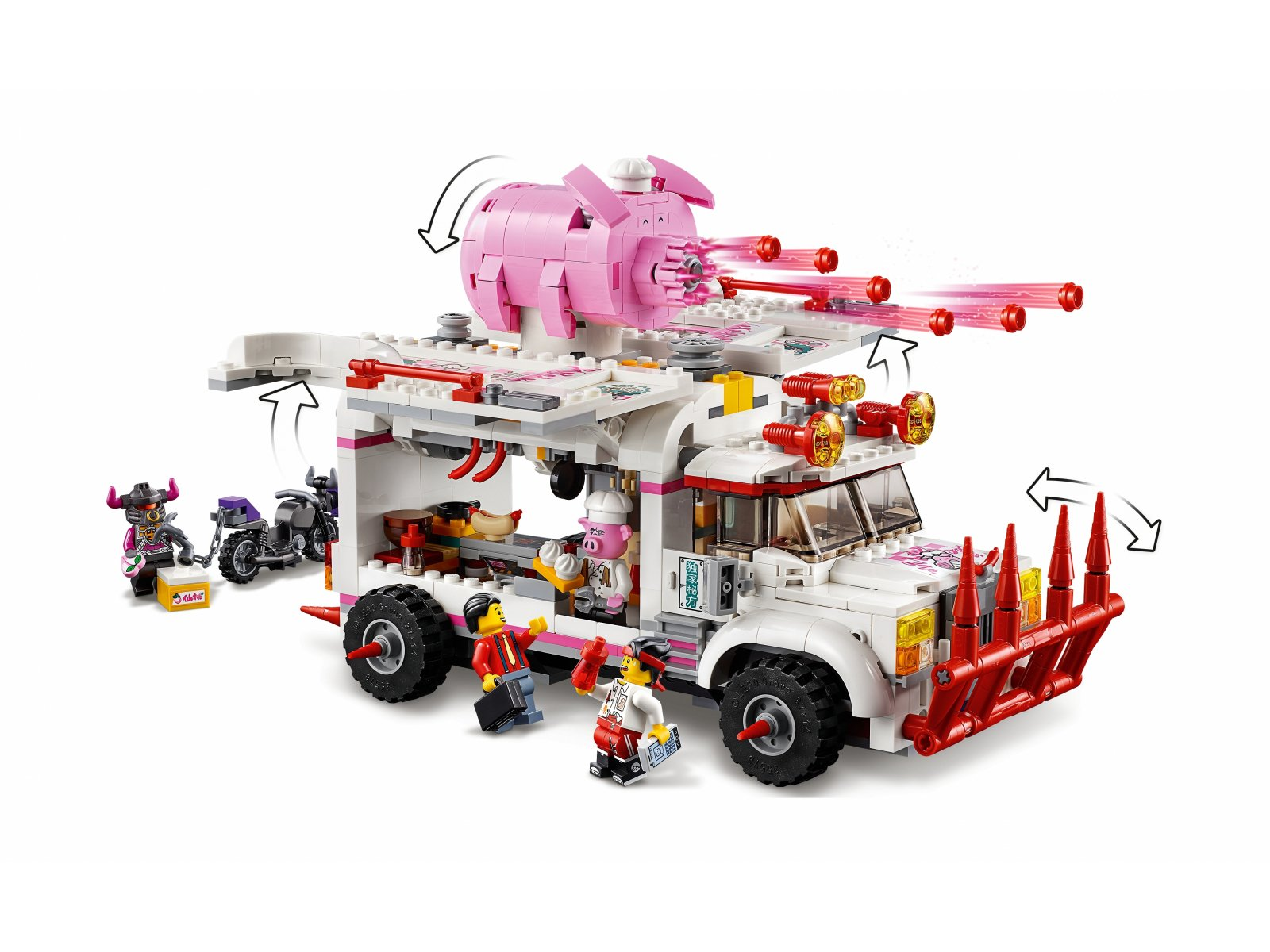 LEGO 80009 Monkie Kid™ Foodtruck Pigsy'ego