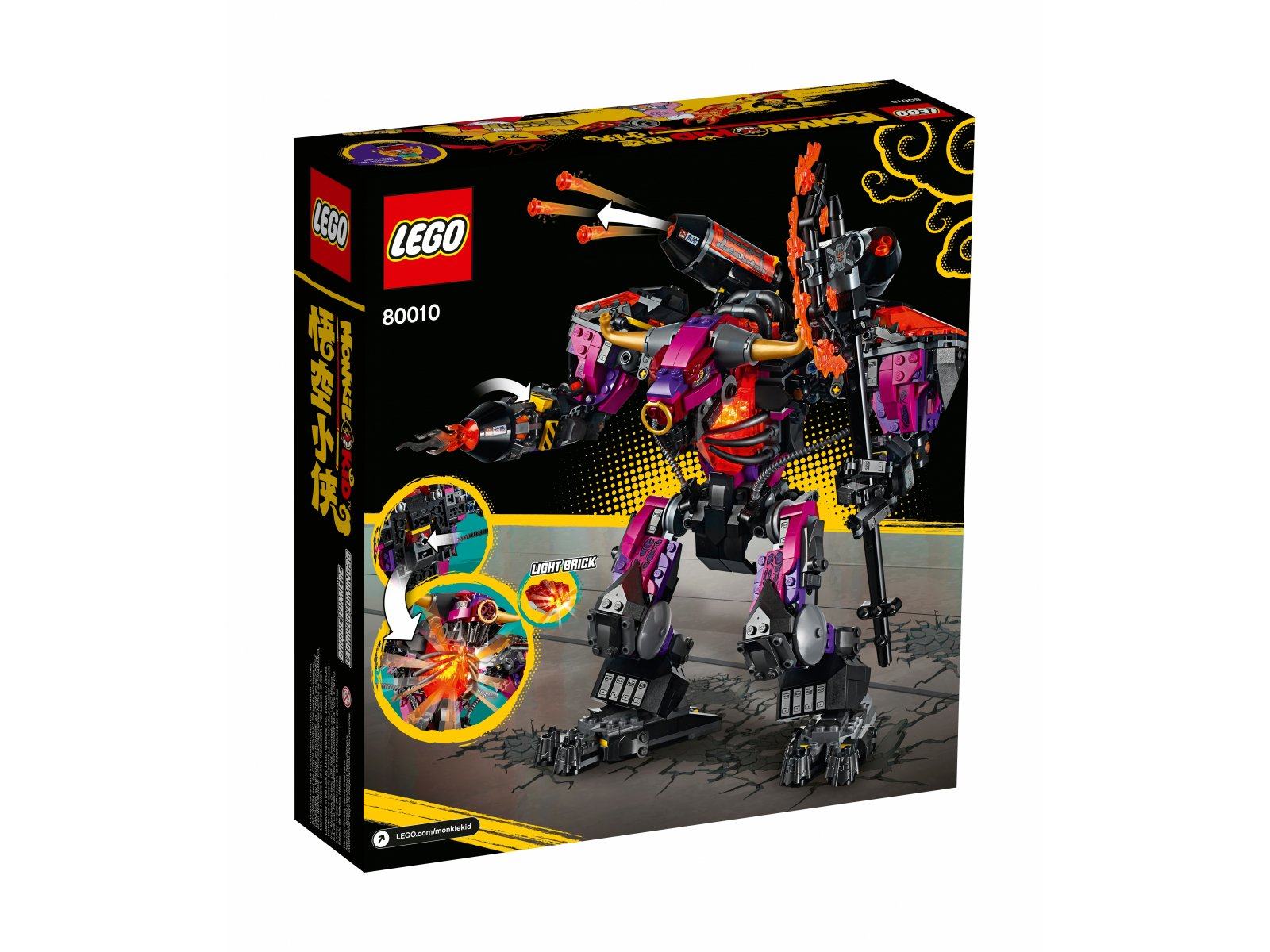 LEGO 80010 Monkie Kid Demon Bull King