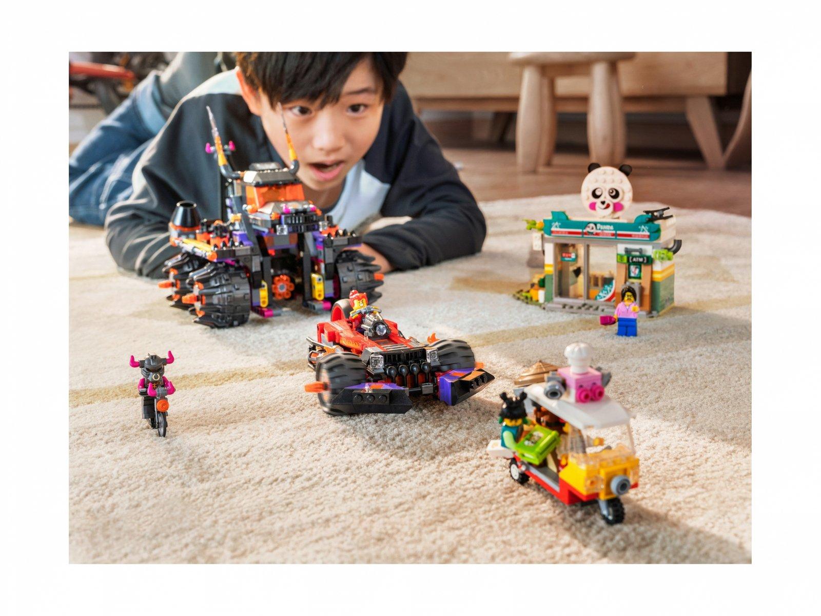 LEGO Monkie Kid™ Piekielny pojazd Red Sona 80011