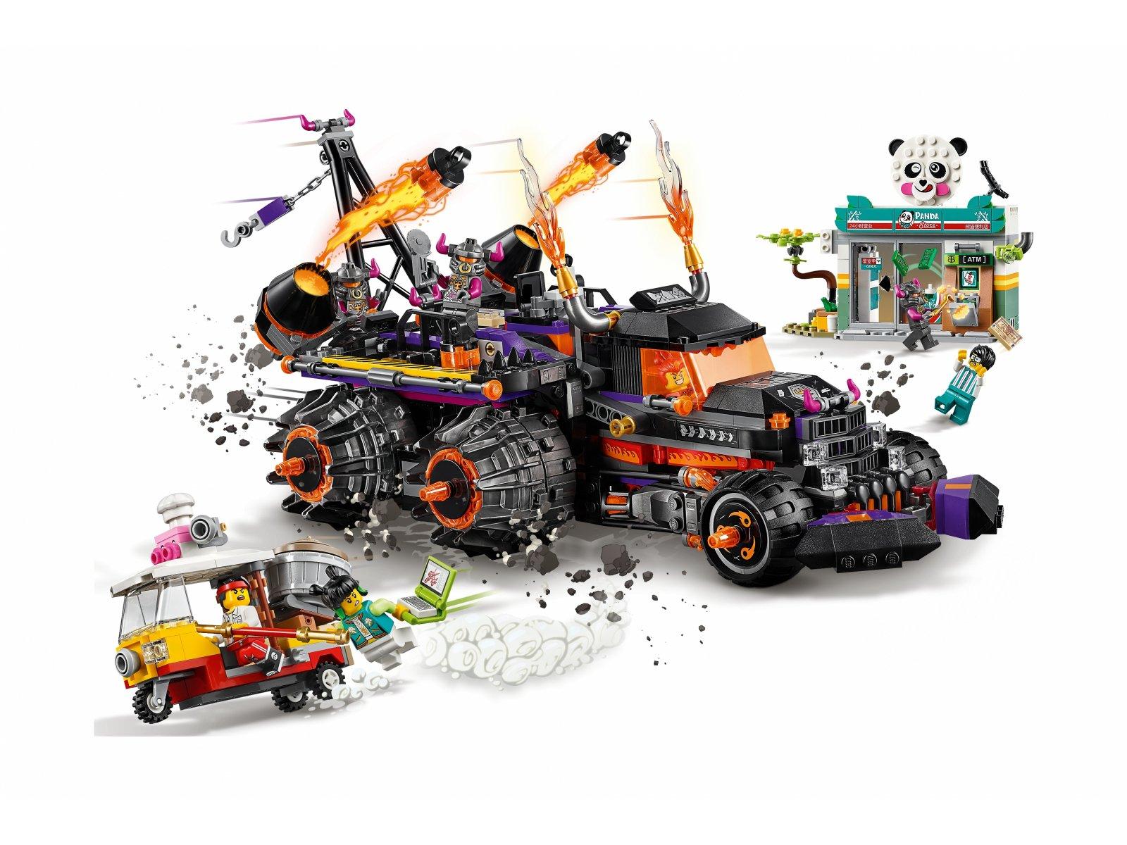LEGO 80011 Monkie Kid™ Piekielny pojazd Red Sona