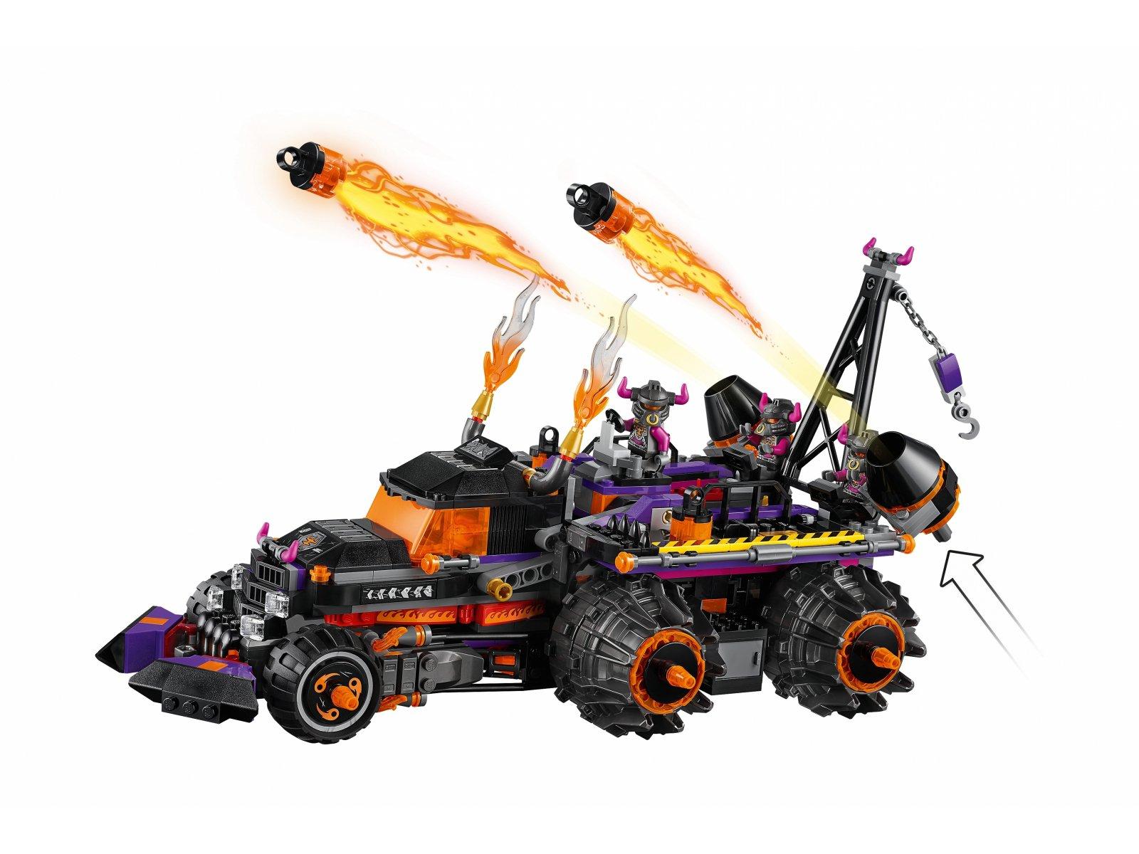 LEGO Monkie Kid™ 80011 Piekielny pojazd Red Sona