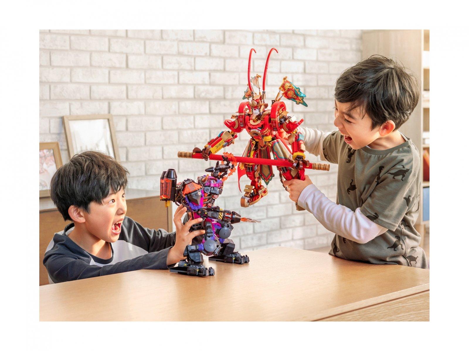 LEGO Monkie Kid™ Bojowy mech Monkey Kinga 80012
