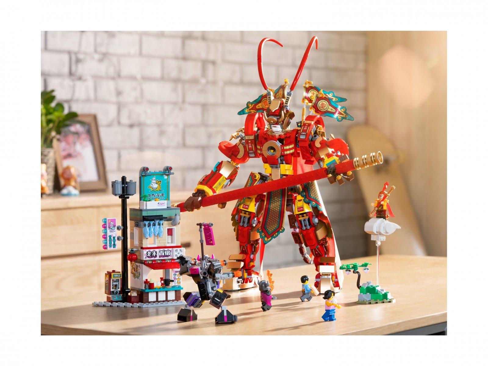 LEGO 80012 Monkie Kid™ Bojowy mech Monkey Kinga