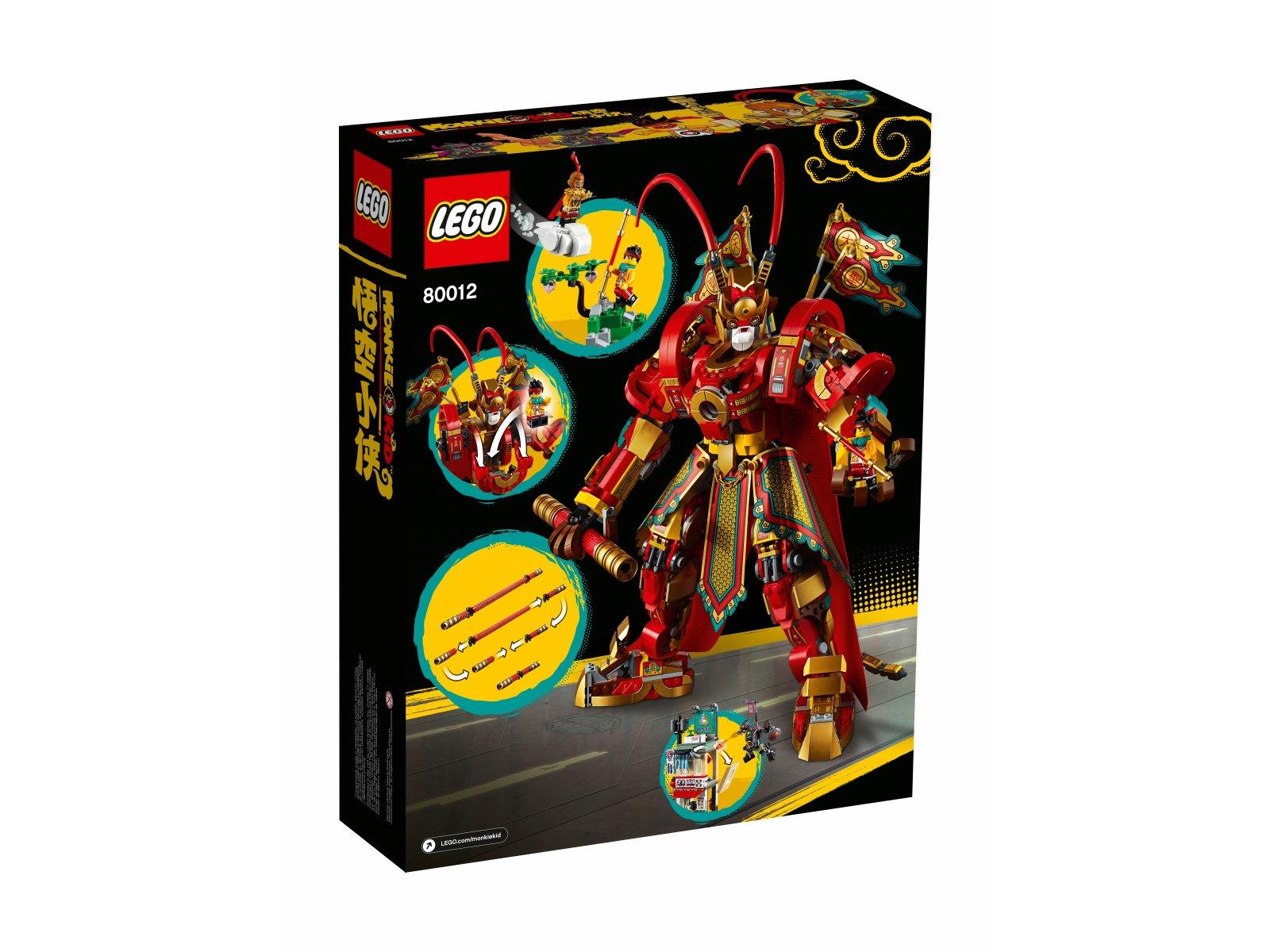 LEGO Monkie Kid™ 80012 Bojowy mech Monkey Kinga