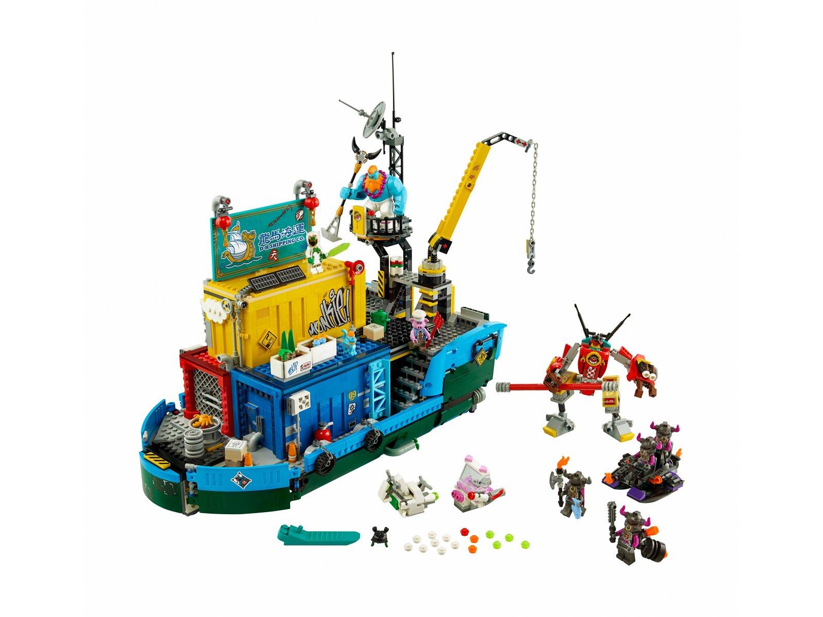 LEGO 80013 Monkie Kid™ Tajne dowództwo ekipy Monkie Kida