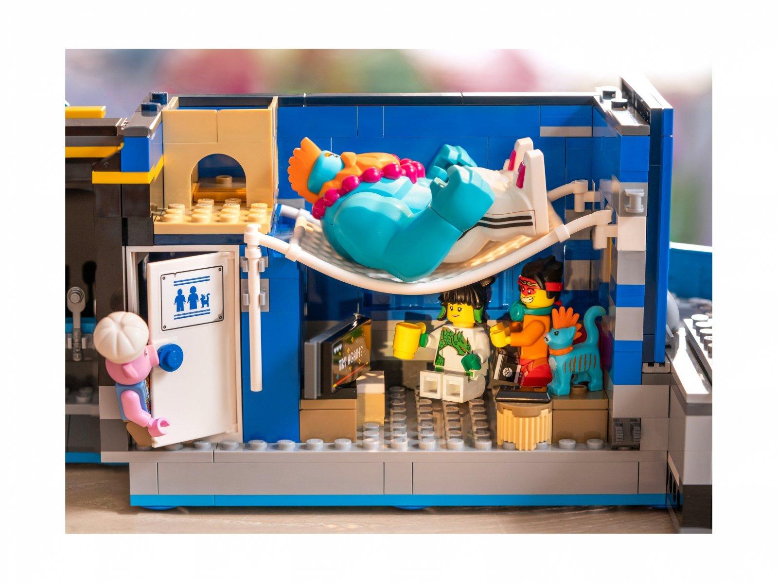 LEGO Monkie Kid™ Tajne dowództwo ekipy Monkie Kida 80013