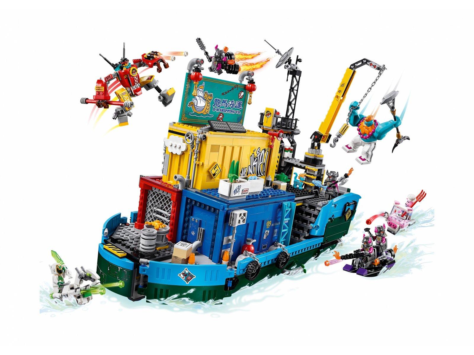 LEGO 80013 Tajne dowództwo ekipy Monkie Kida