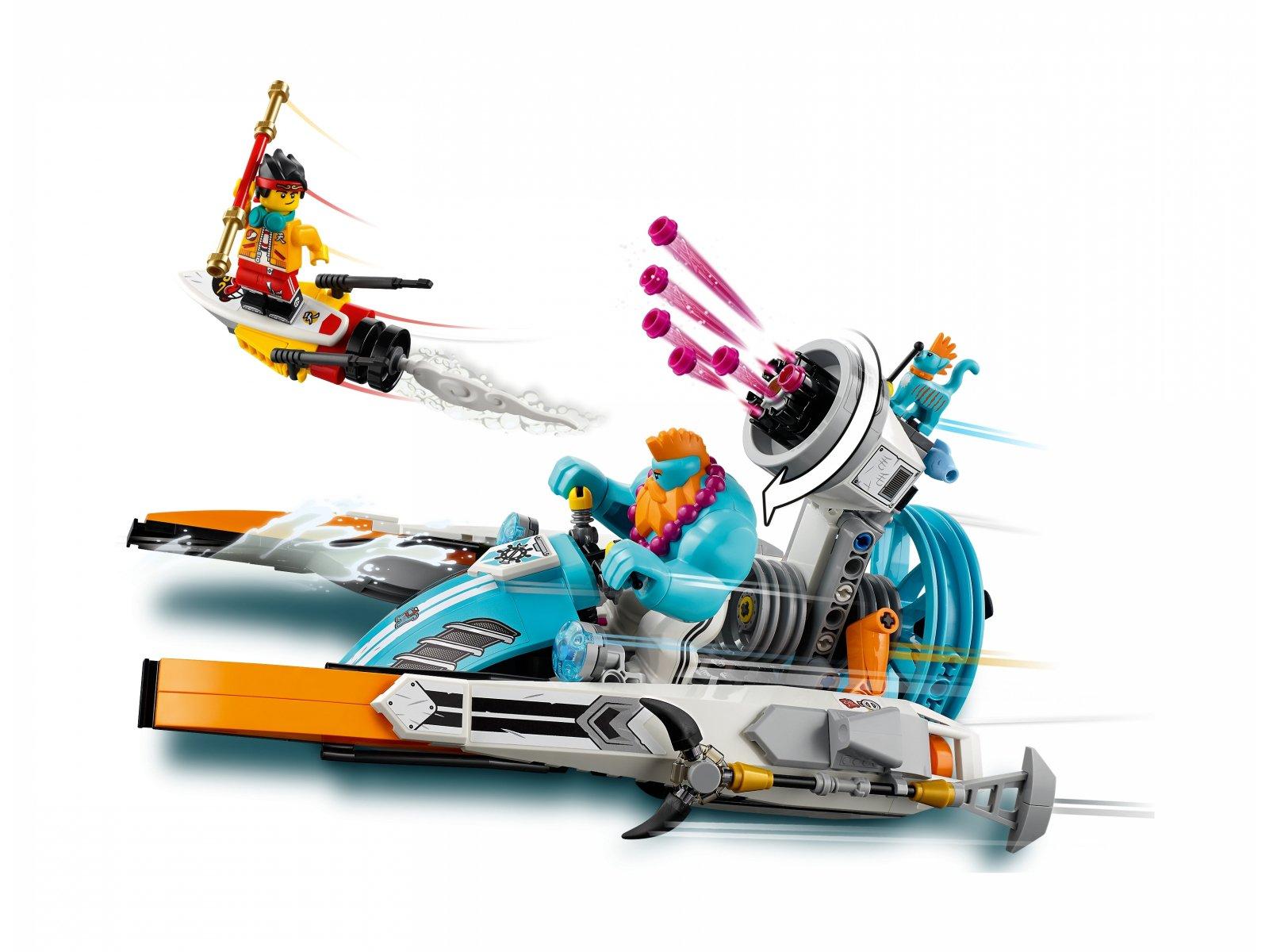 LEGO Monkie Kid Motorówka Sandy'ego 80014