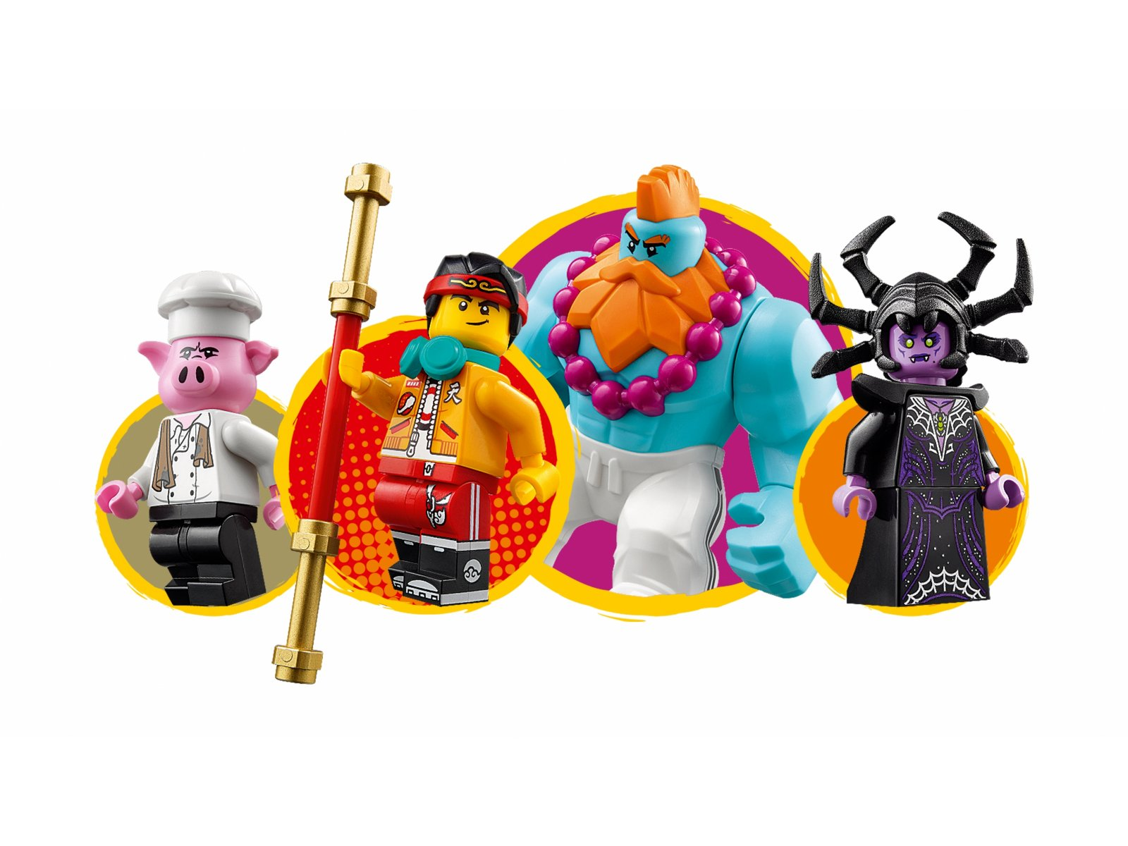 LEGO 80014 Monkie Kid Motorówka Sandy'ego