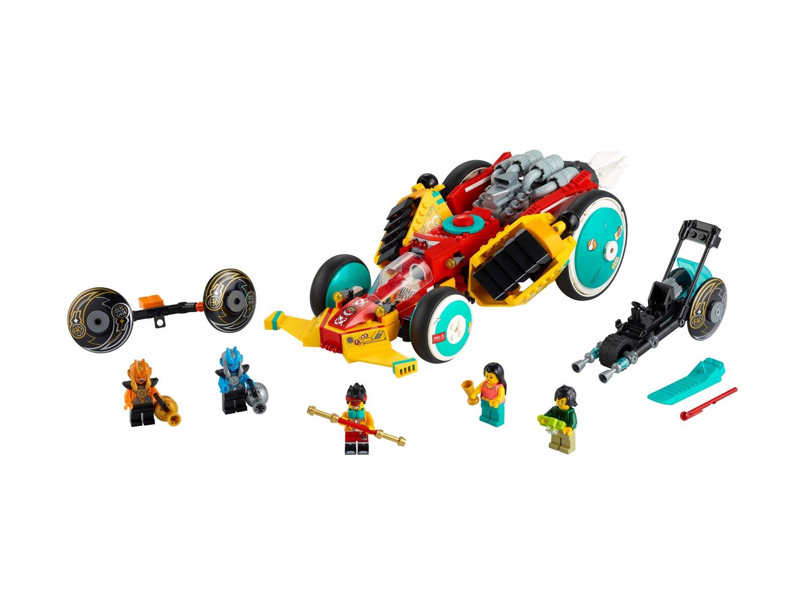 LEGO Monkie Kid™ 80015 Chmurkowy roadster Monkie Kida