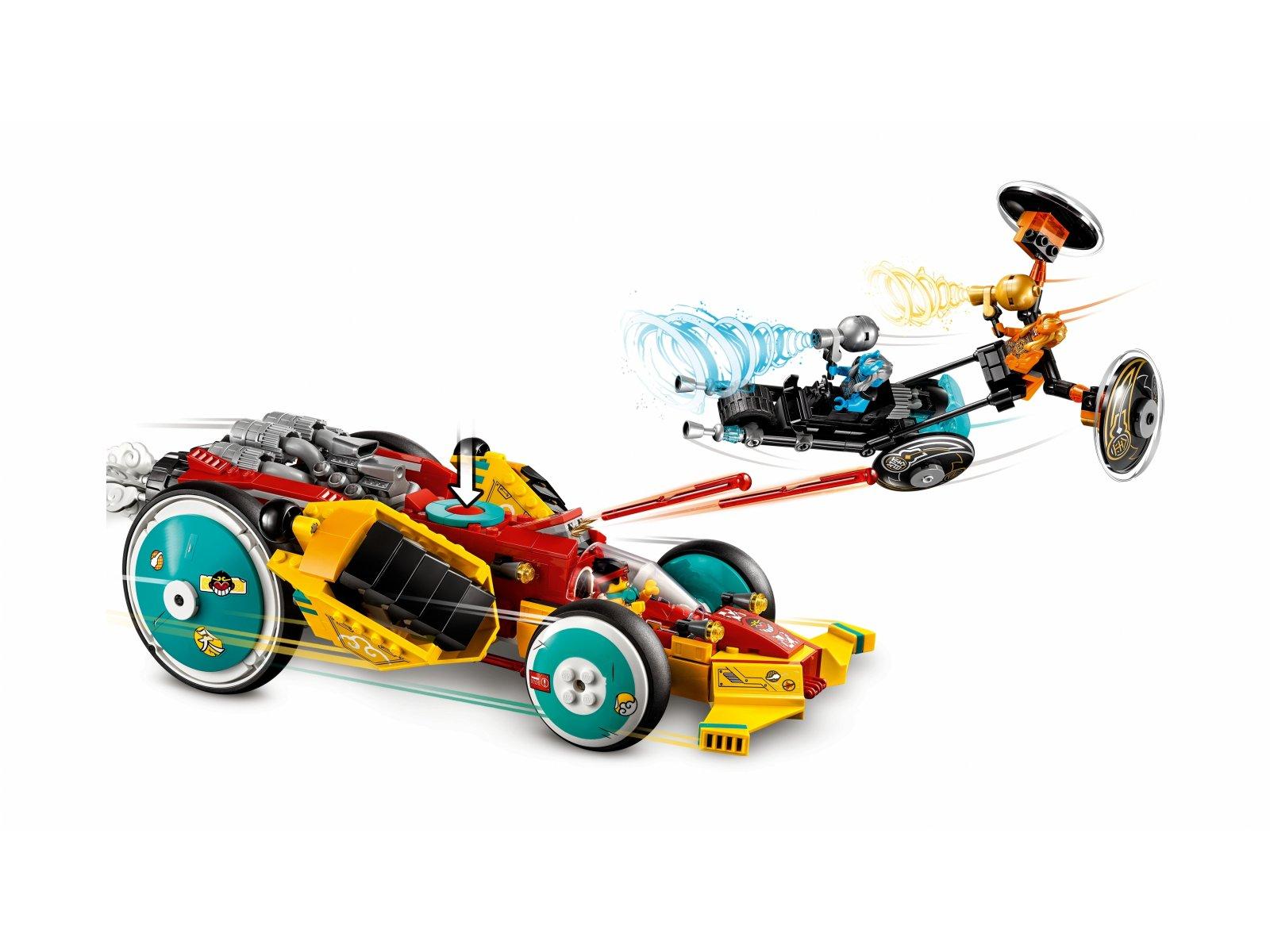 LEGO 80015 Monkie Kid™ Chmurkowy roadster Monkie Kida