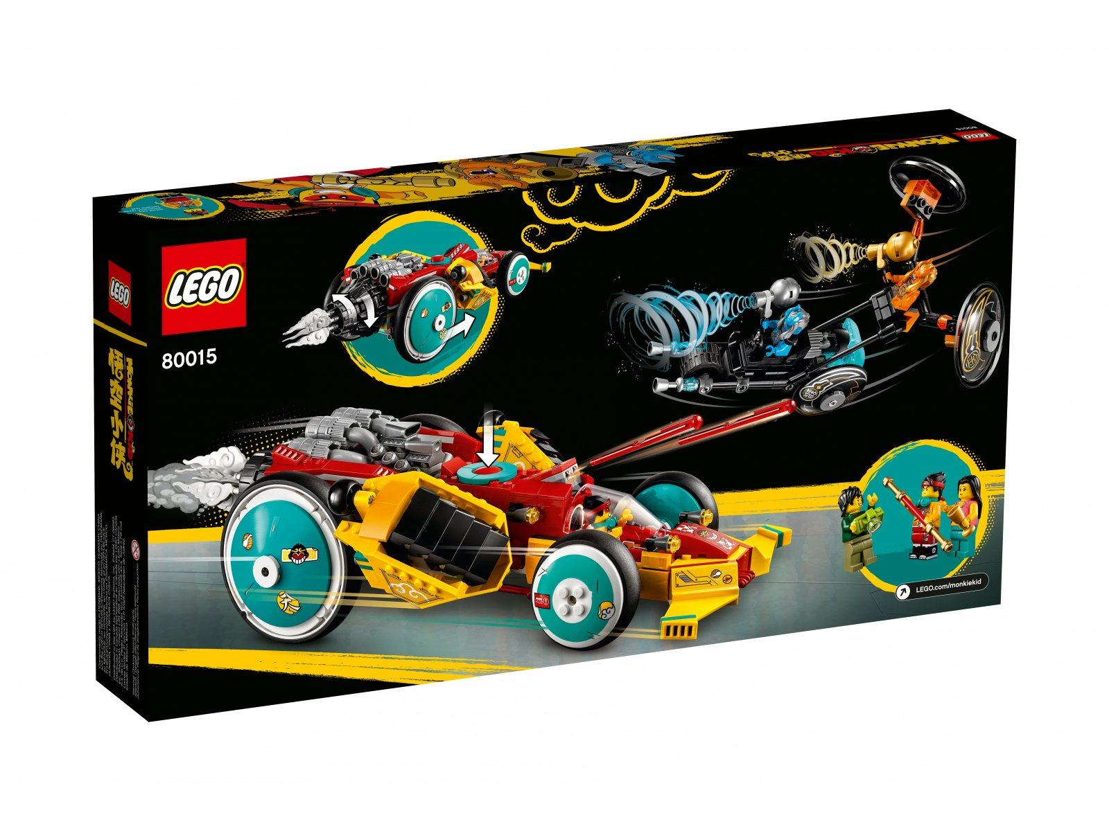 LEGO Monkie Kid™ Chmurkowy roadster Monkie Kida 80015