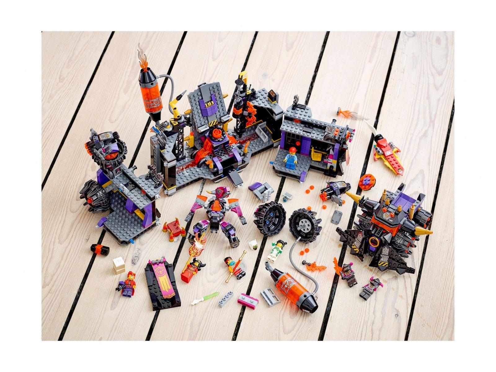 LEGO Monkie Kid Ognista huta 80016