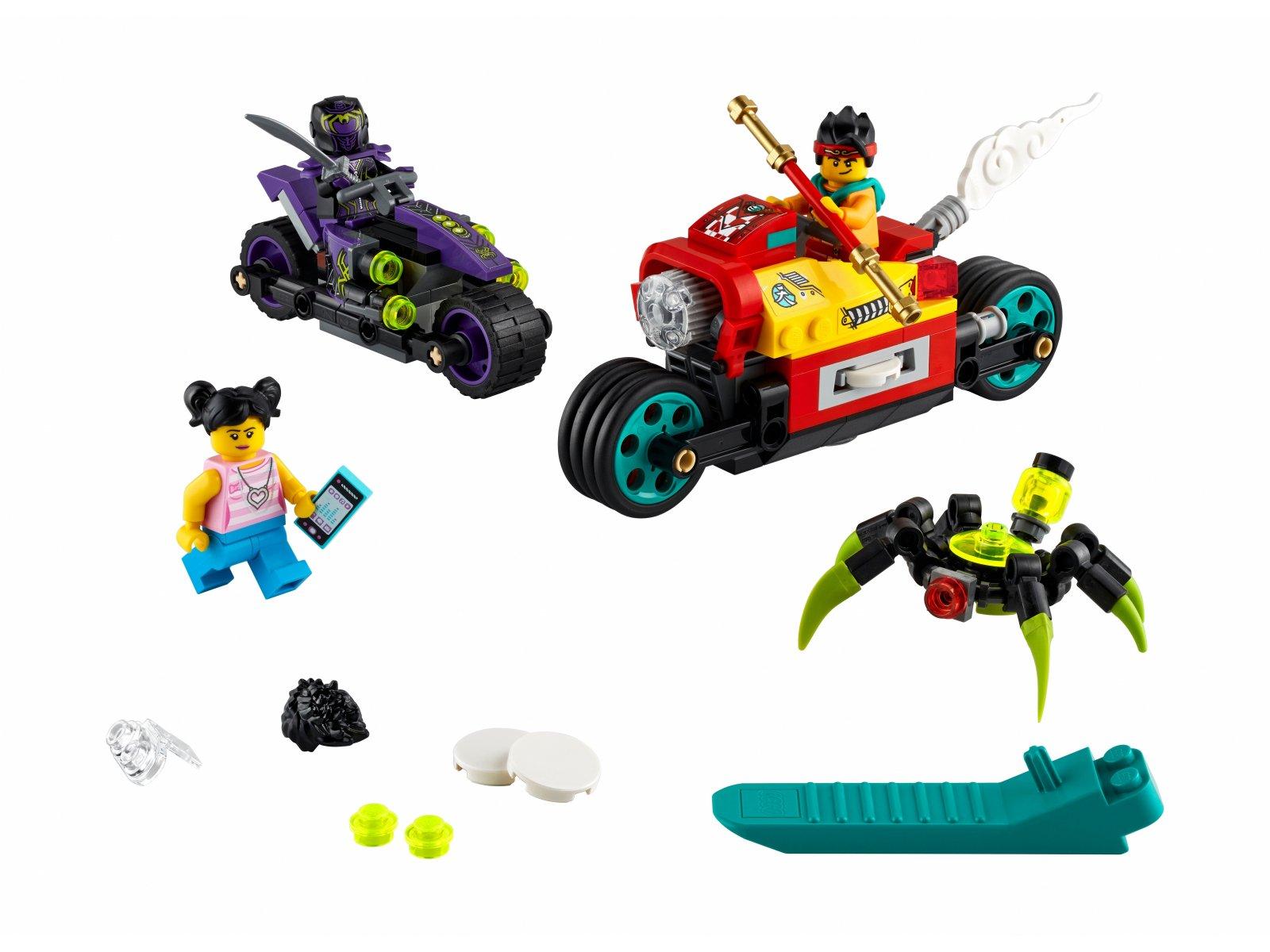LEGO 80018 Podniebny motocykl Monkie Kida