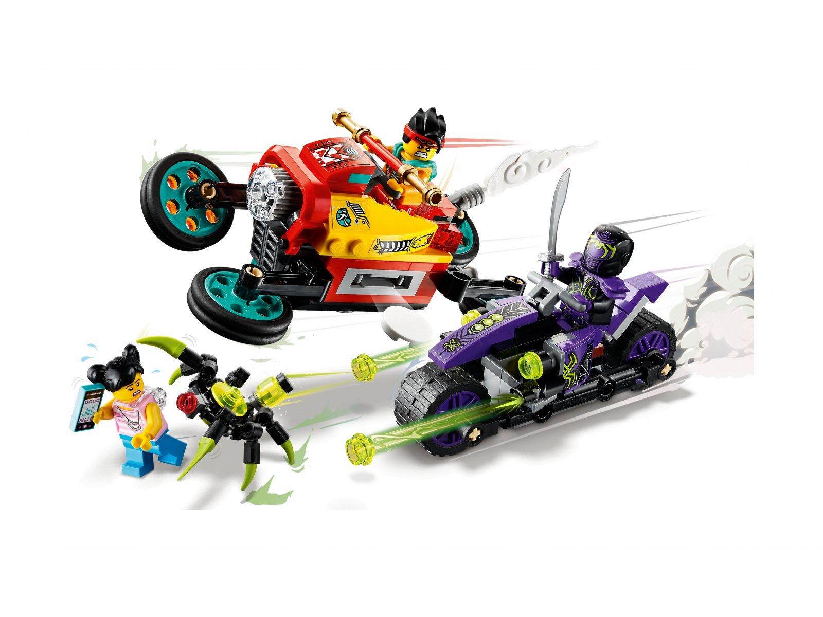 LEGO Monkie Kid 80018 Podniebny motocykl Monkie Kida