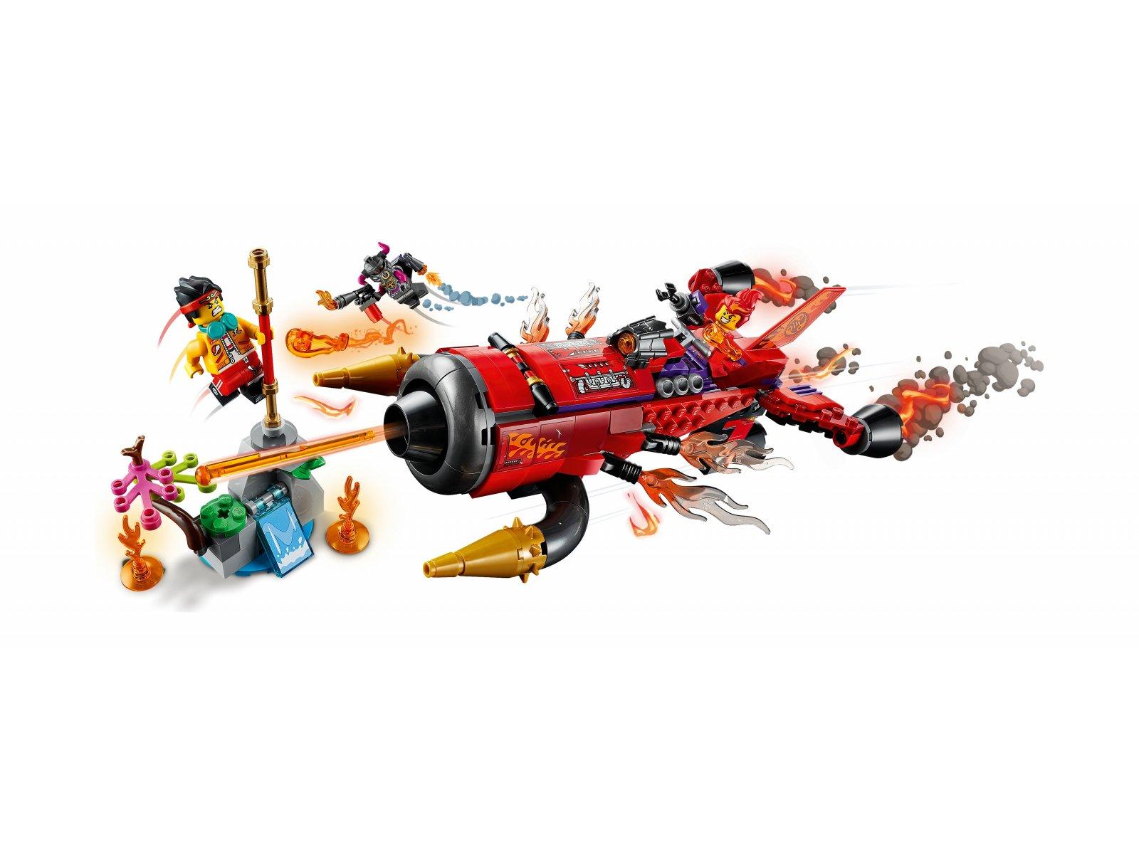 LEGO 80019 Piekielny odrzutowiec Red Sona