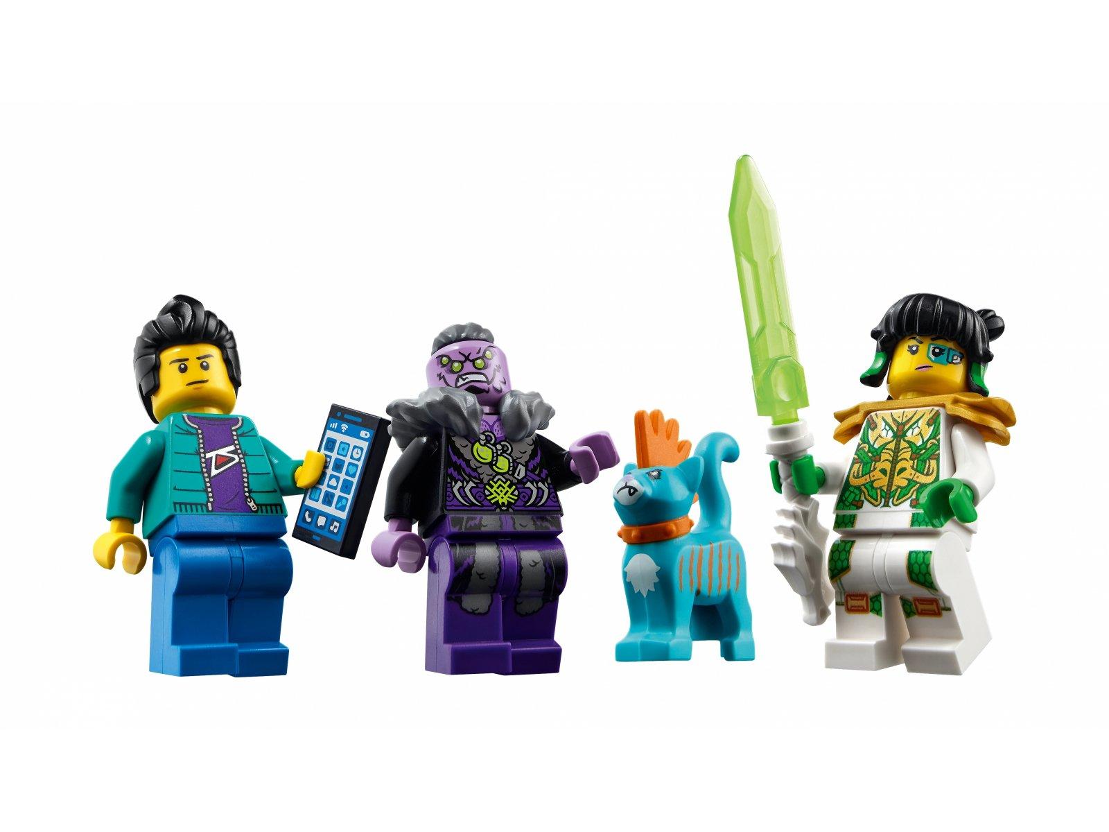 LEGO 80020 Odrzutowiec Biały Smok