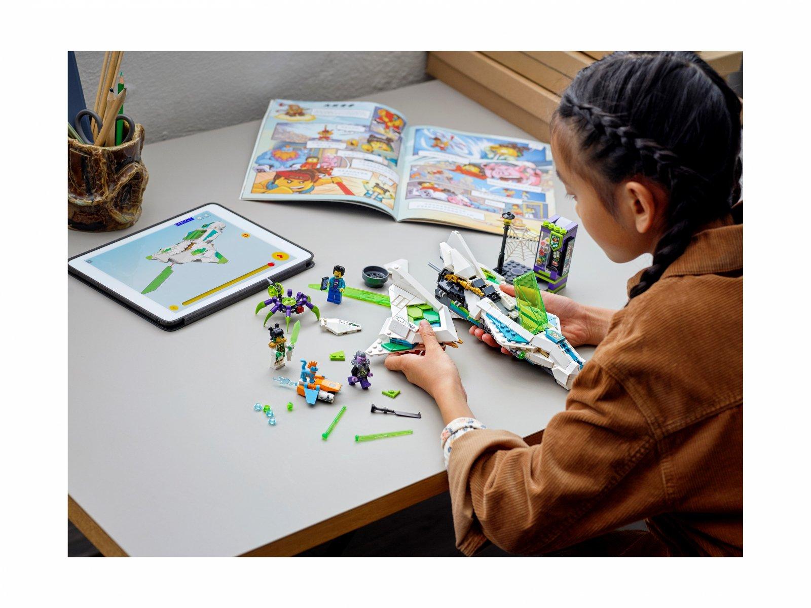 LEGO Monkie Kid Odrzutowiec Biały Smok 80020