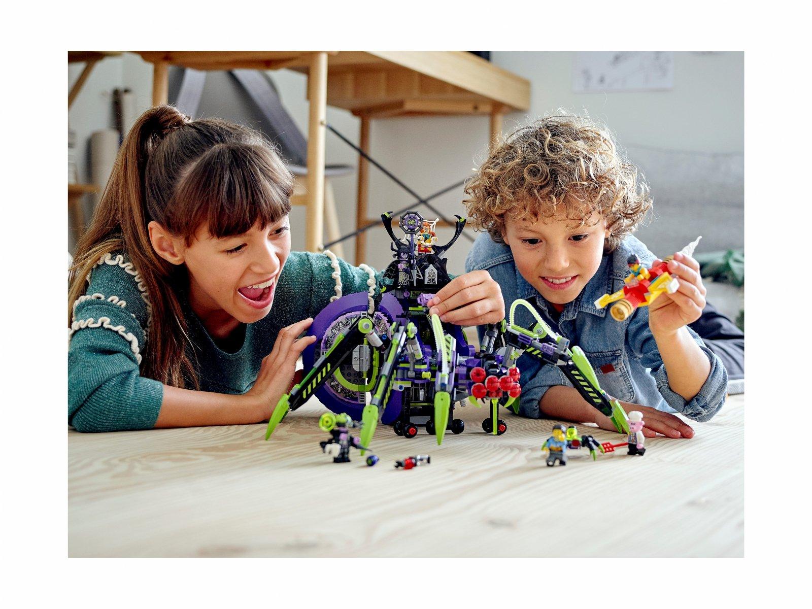 LEGO Monkie Kid Baza arachnoidów Spider Queen 80022