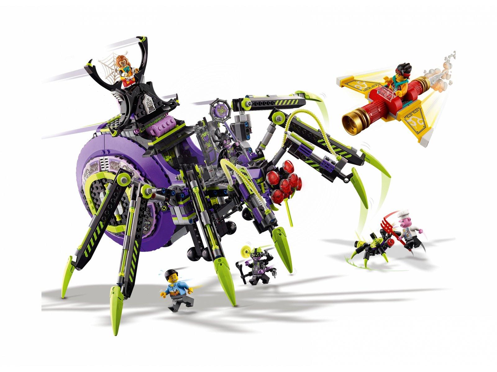 LEGO 80022 Monkie Kid Baza arachnoidów Spider Queen