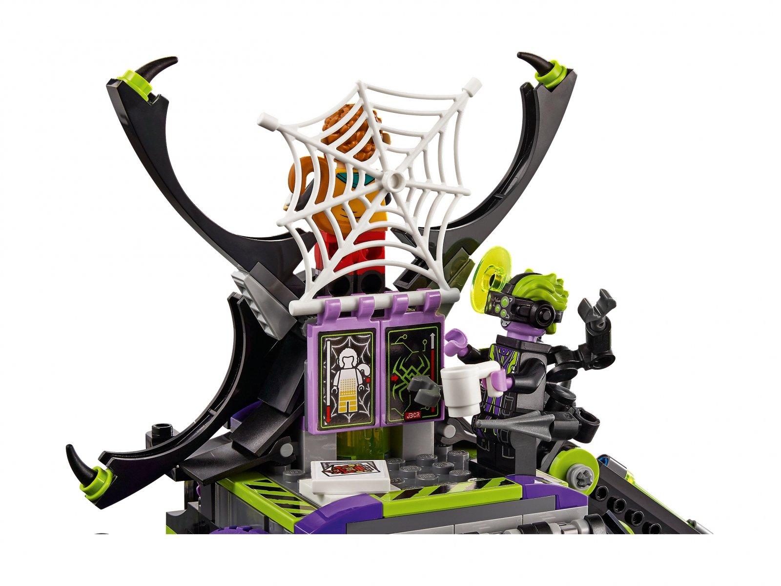 LEGO 80022 Baza arachnoidów Spider Queen