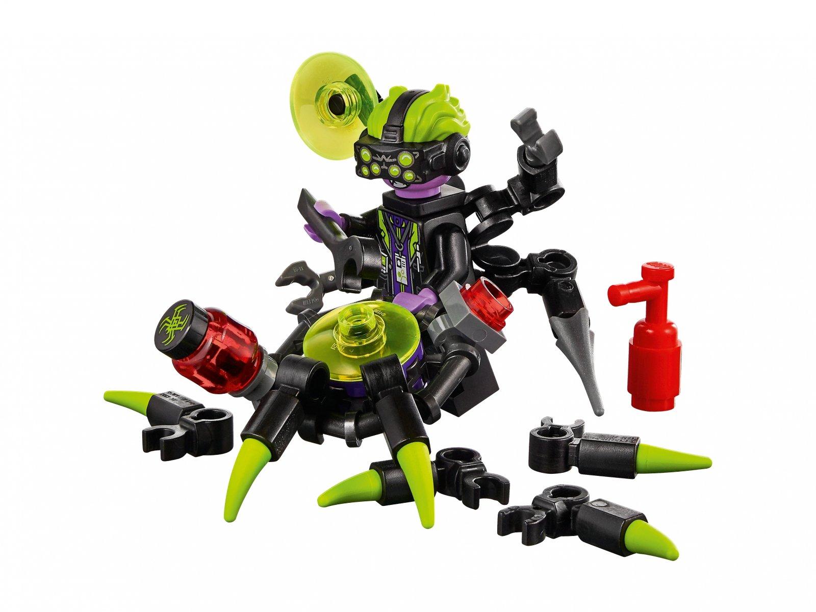 LEGO Monkie Kid 80022 Baza arachnoidów Spider Queen