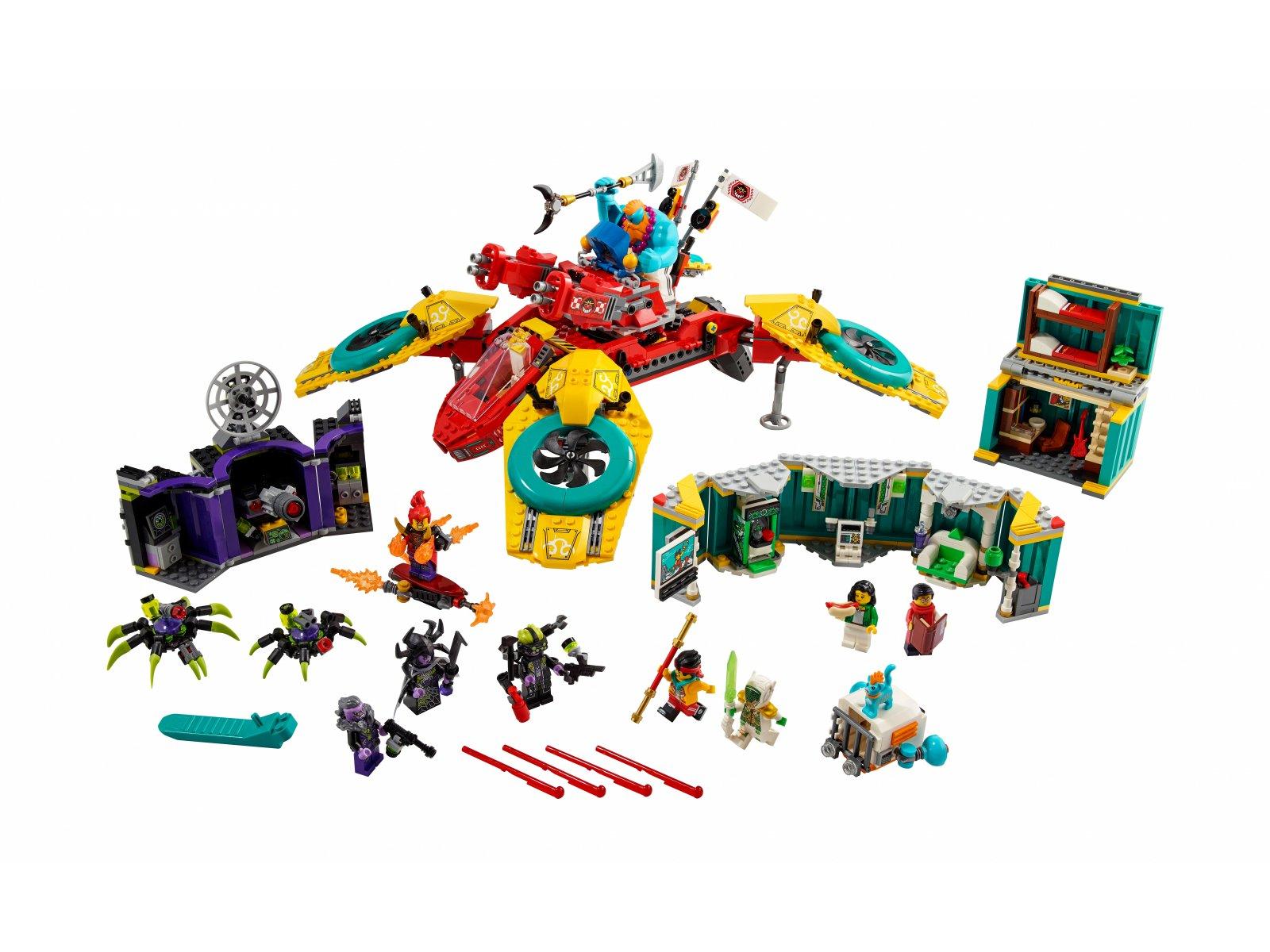 LEGO Monkie Kid Dronkopter ekipy Monkie Kida 80023