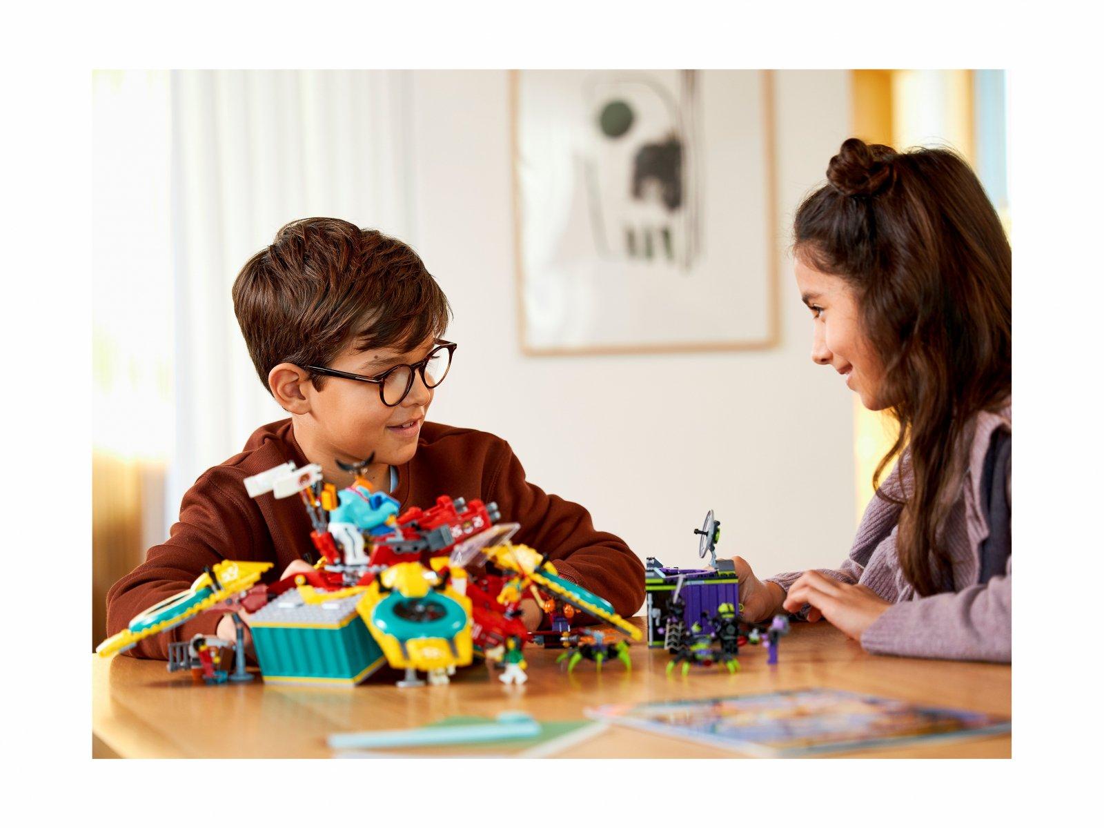 LEGO Monkie Kid 80023 Dronkopter ekipy Monkie Kida