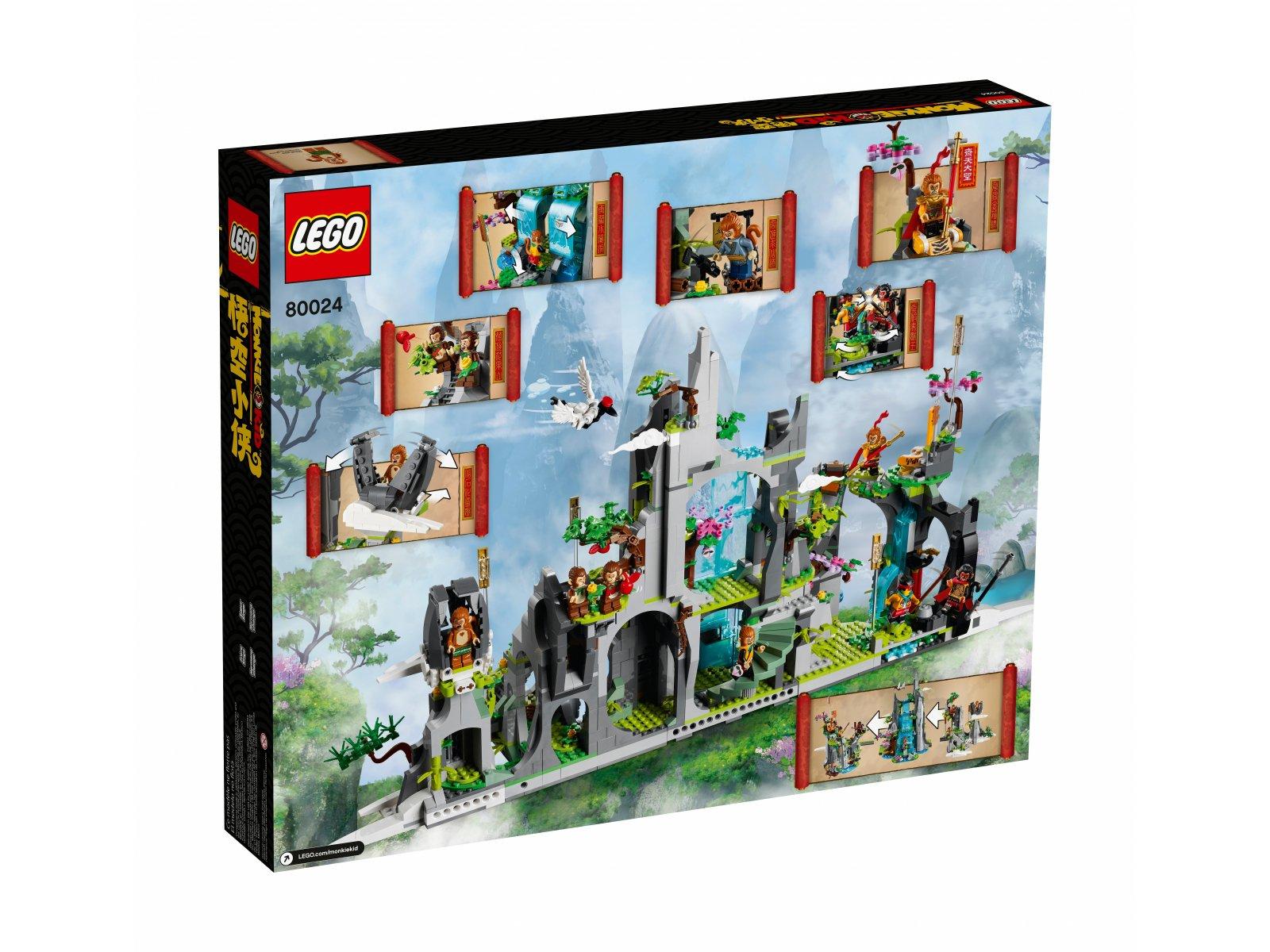 LEGO Monkie Kid 80024 Legendarna Góra Kwiatów i Owoców