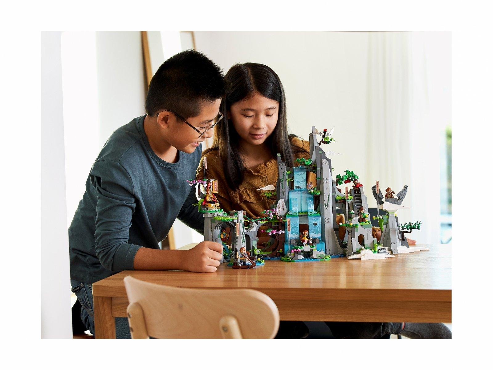 LEGO Monkie Kid Legendarna Góra Kwiatów i Owoców 80024