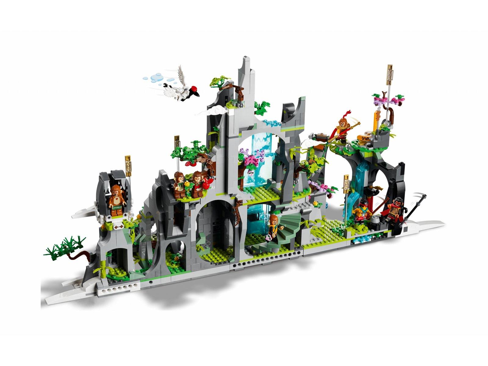 LEGO 80024 Monkie Kid Legendarna Góra Kwiatów i Owoców