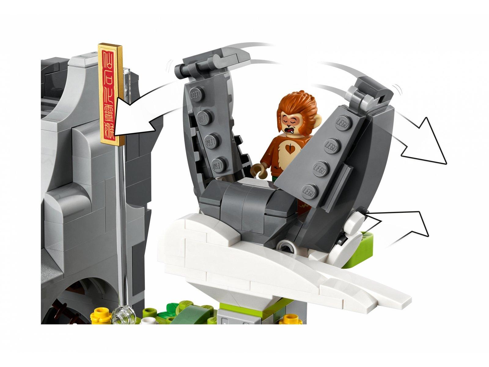 LEGO 80024 Legendarna Góra Kwiatów i Owoców