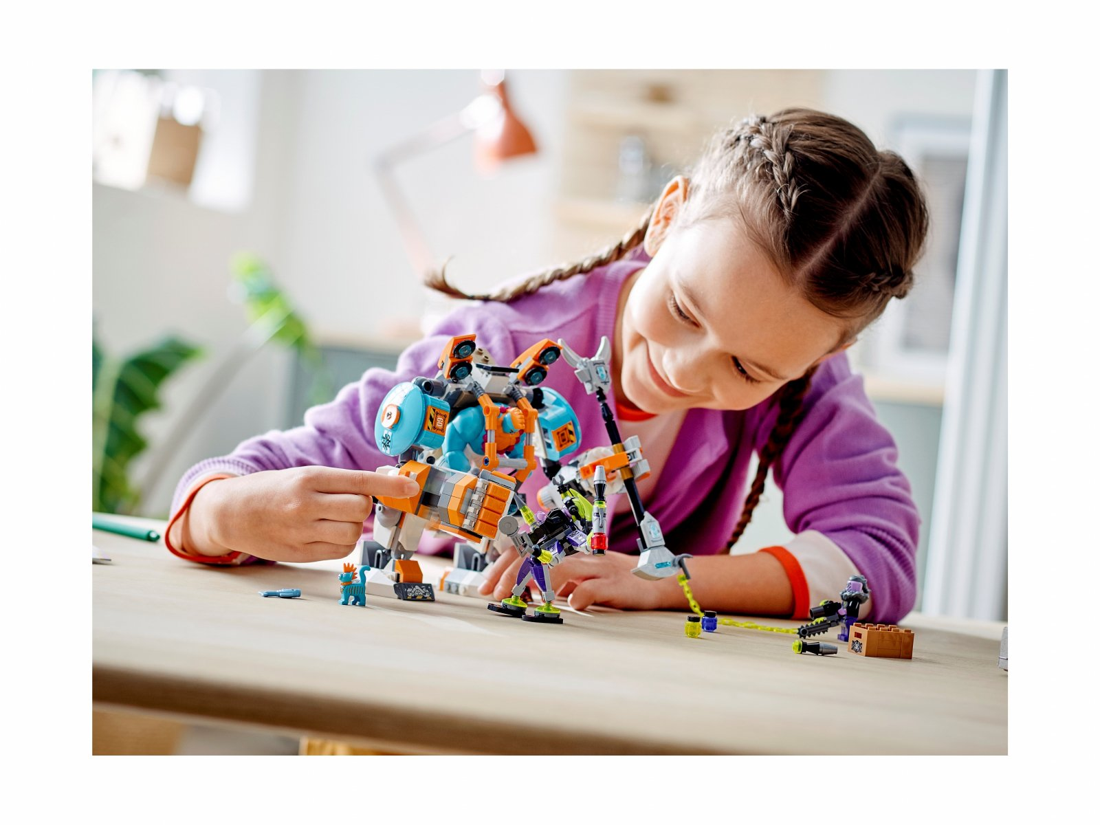 LEGO Monkie Kid Mocarny mech Sandy'ego 80025