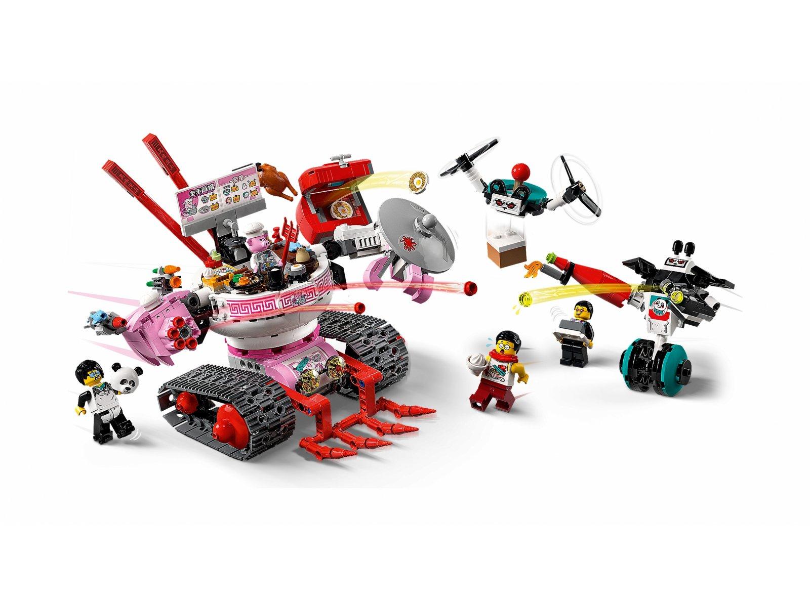 LEGO Monkie Kid Kluseczkowy czołg Pigsy'ego 80026