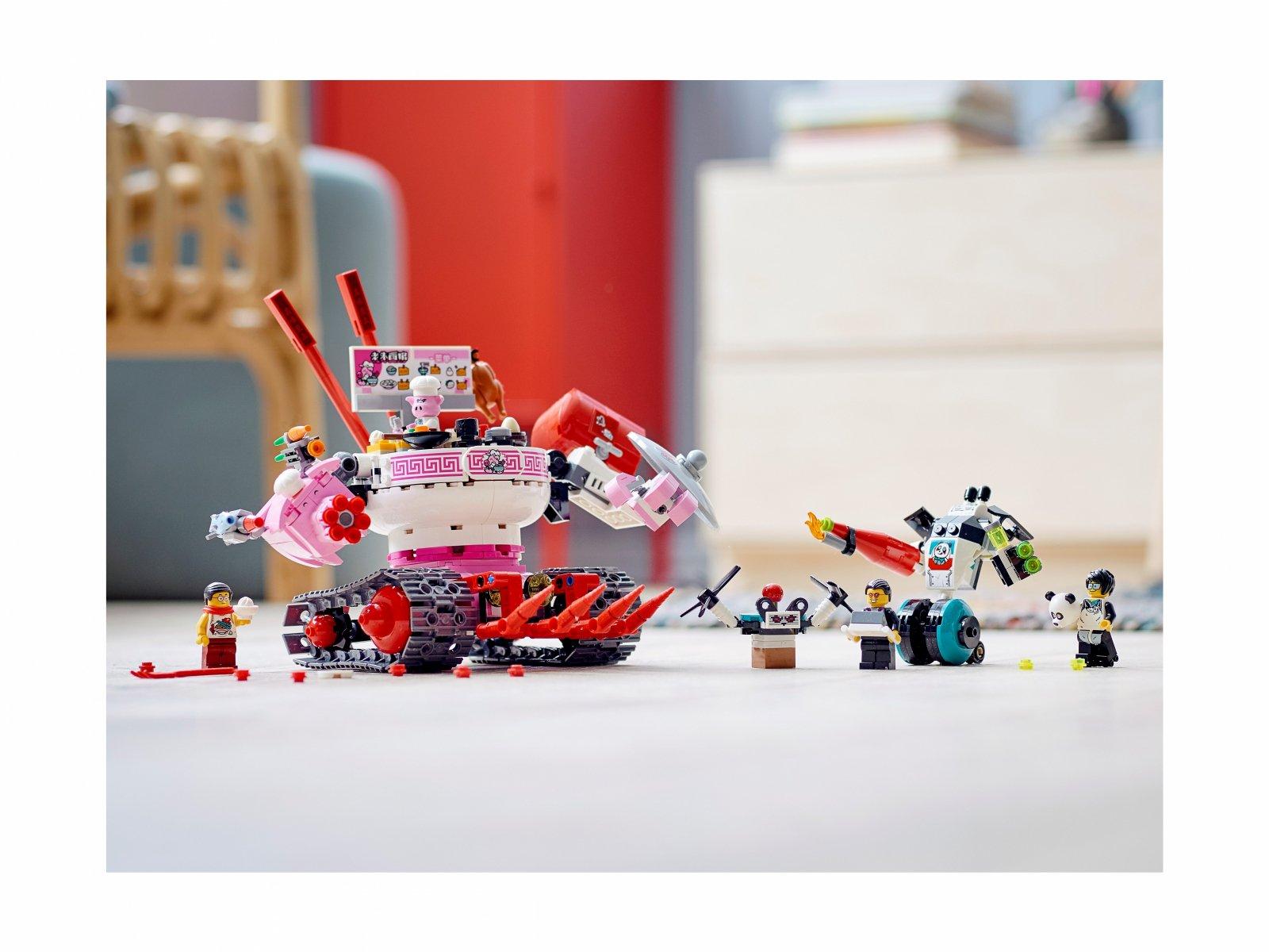 LEGO 80026 Monkie Kid Kluseczkowy czołg Pigsy'ego