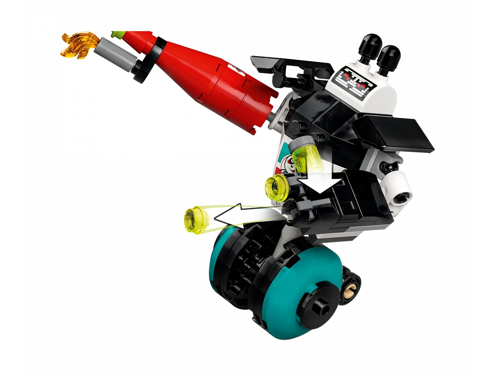 LEGO 80026 Kluseczkowy czołg Pigsy'ego