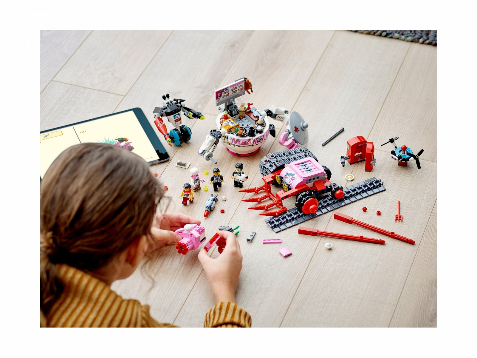 LEGO Monkie Kid 80026 Kluseczkowy czołg Pigsy'ego