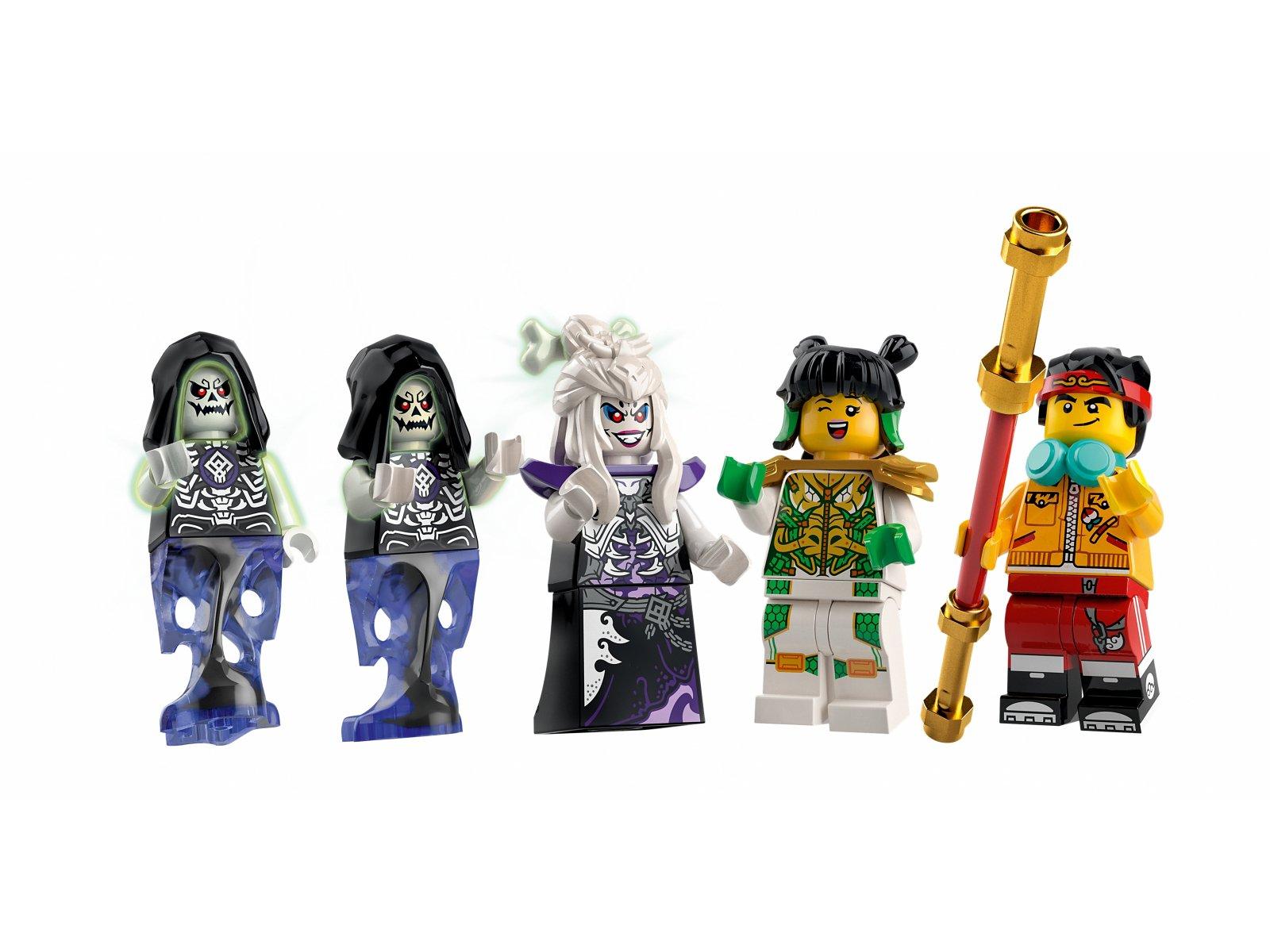 LEGO 80028 Monkie Kid Kościana demonica