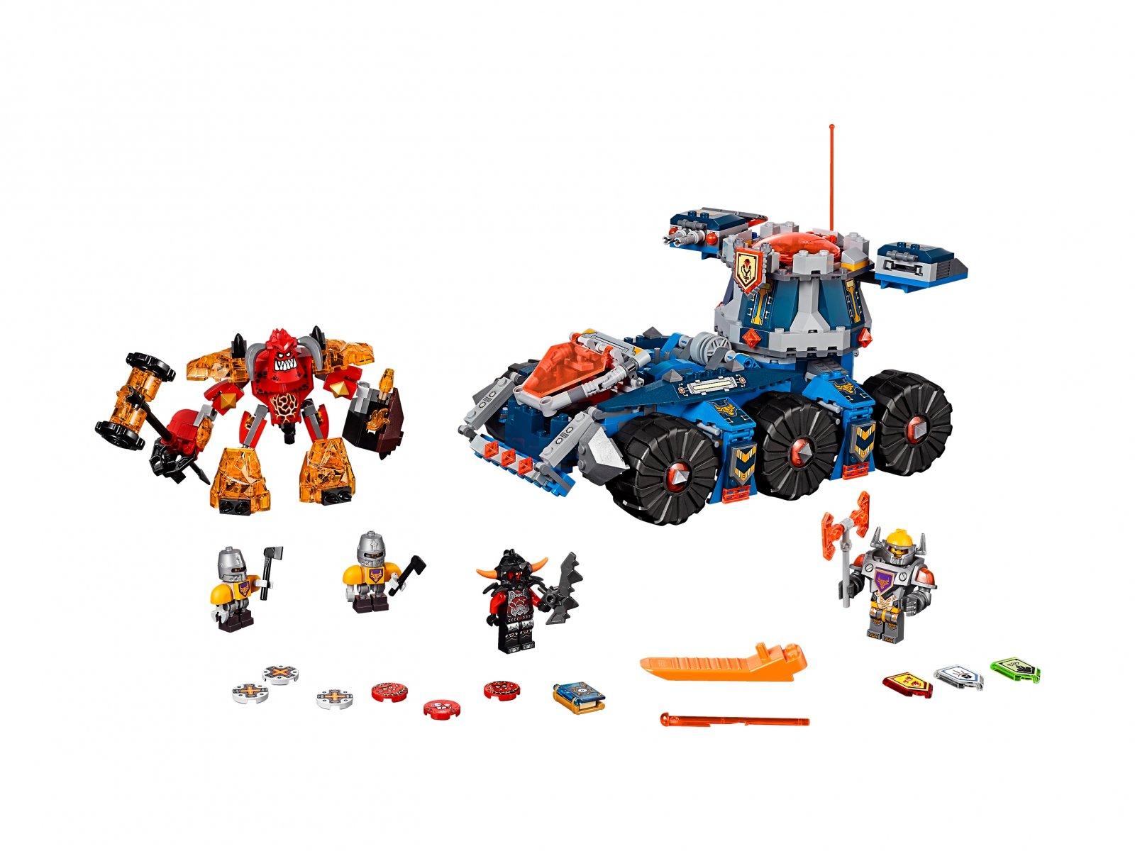 LEGO 70322 Nexo Knights™ Pojazd Axla